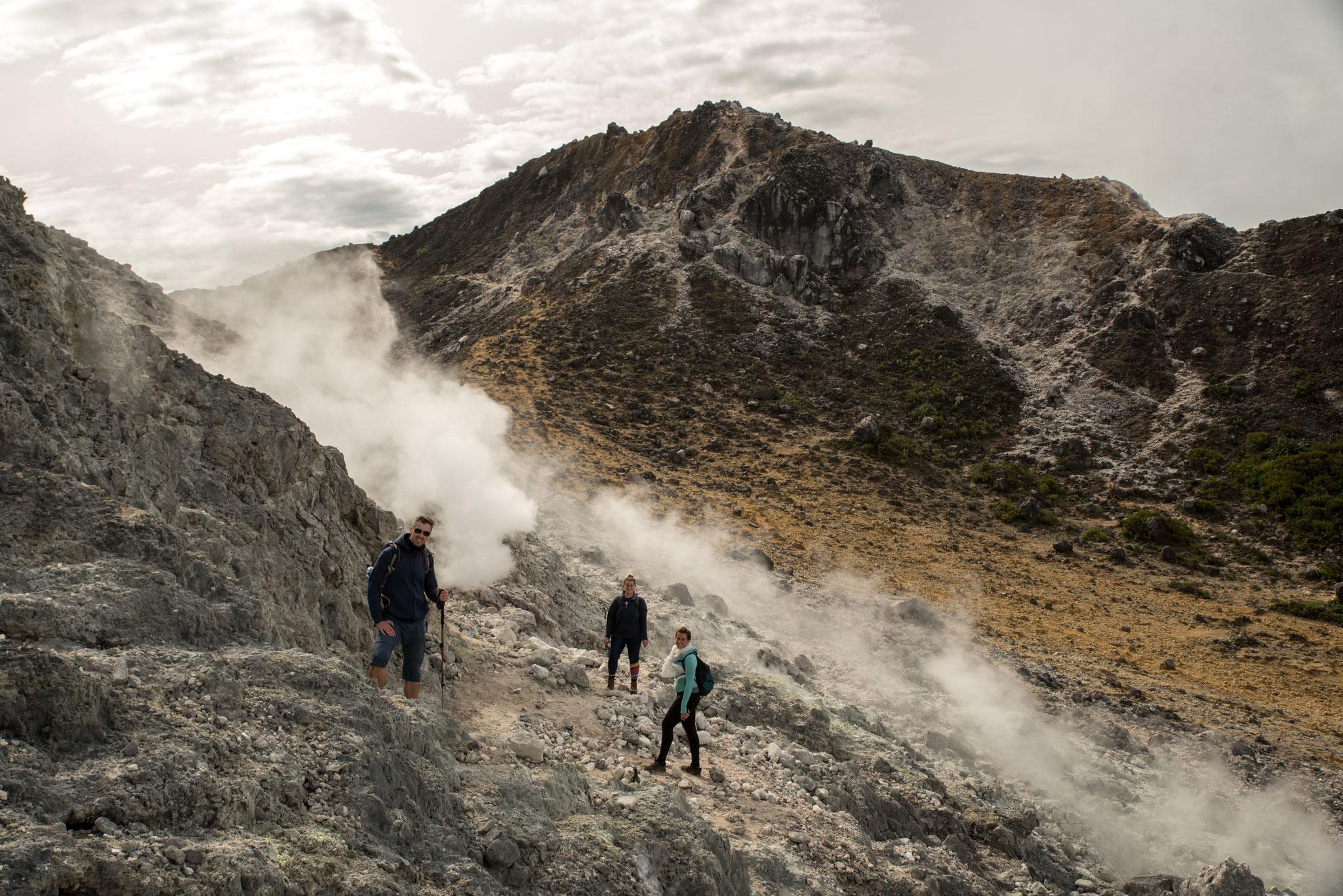 Vulkantour mit Jette und Alice