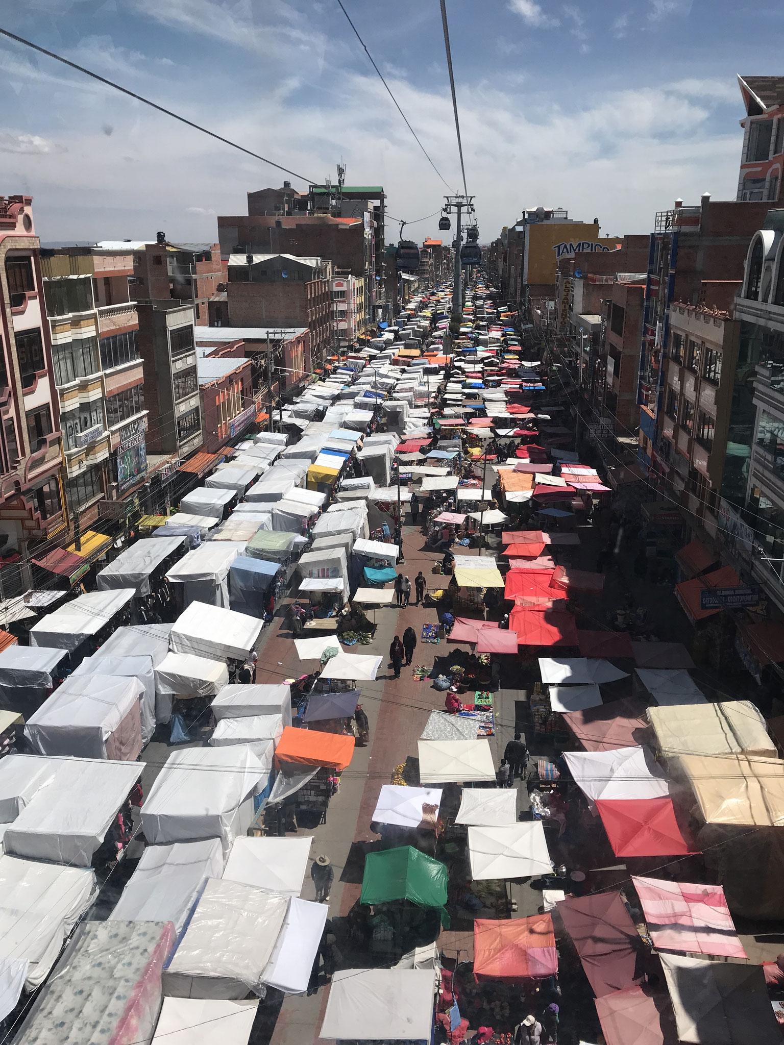 Der Markt in el Alto...