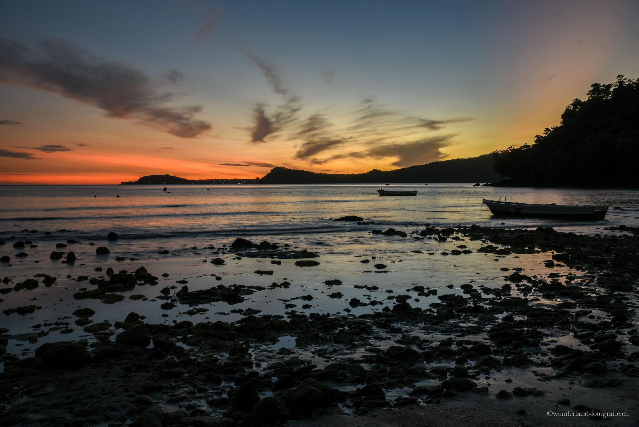 Sonnenaufgang Gapang Beach