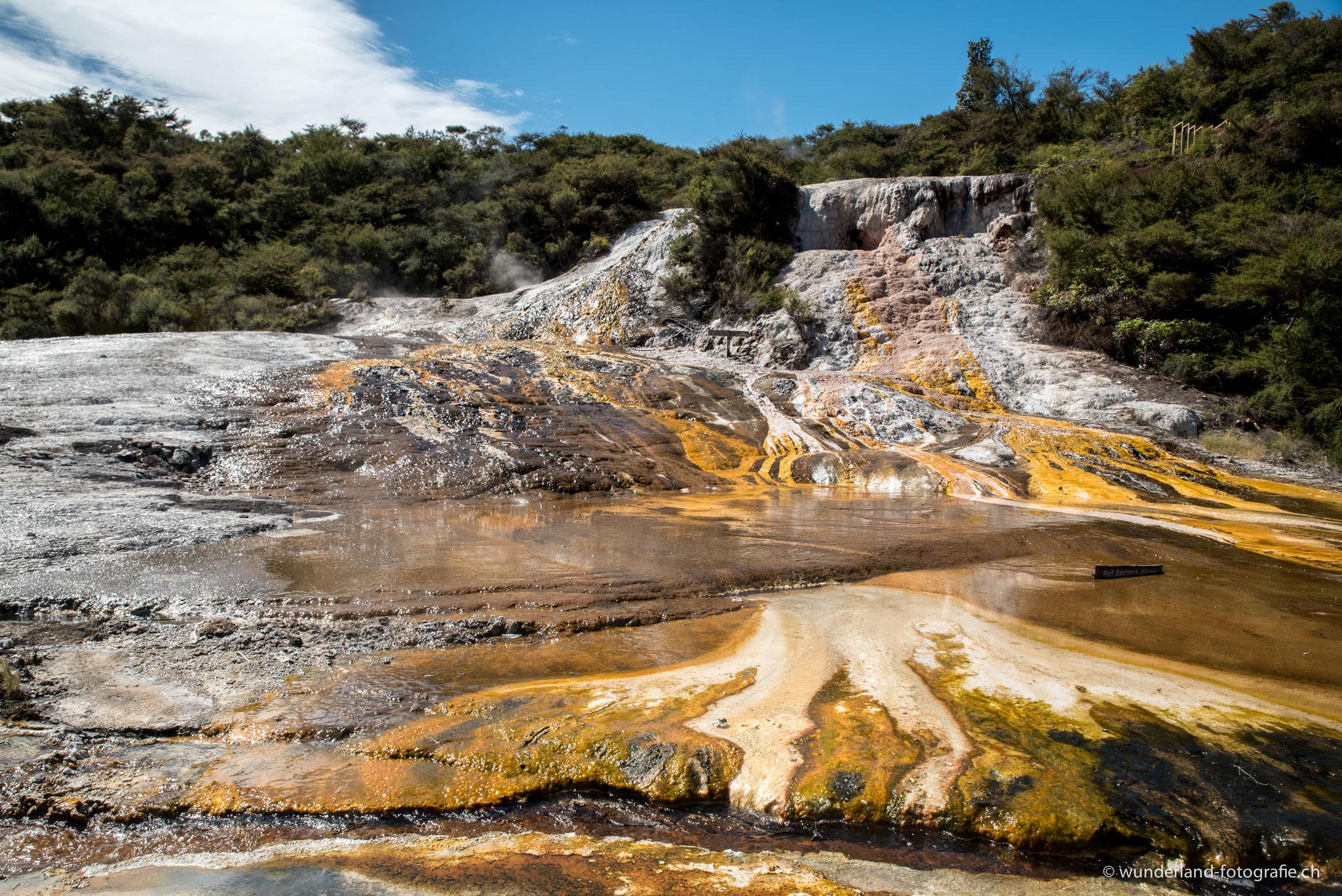 Orakei Korako Geothermal Wonderland