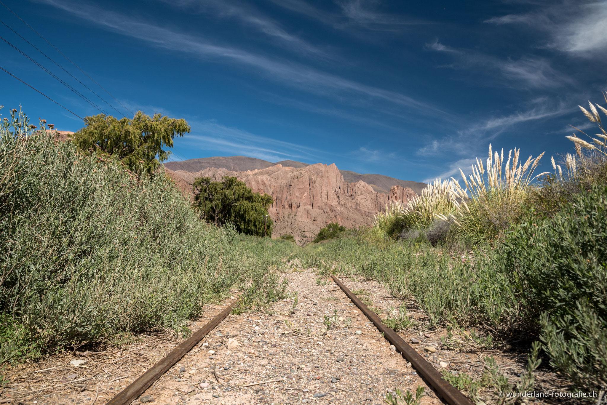 Auf der Strecke des Tren a las Nubes