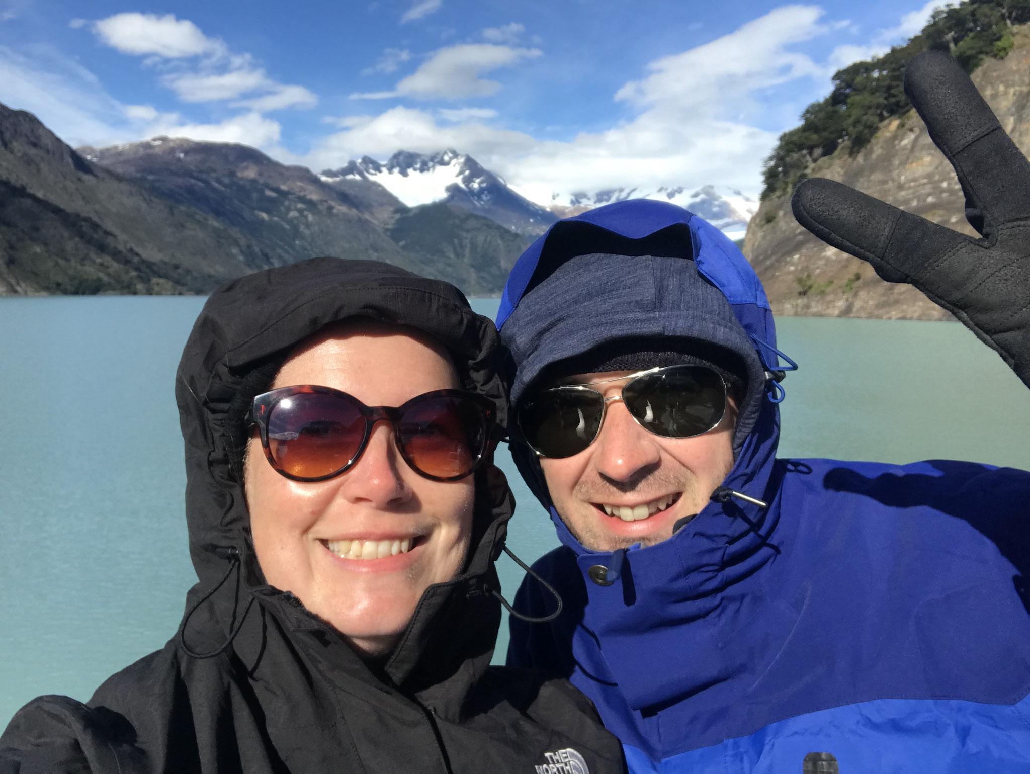 Es kann ganz schön kalt werden in Patagonien.