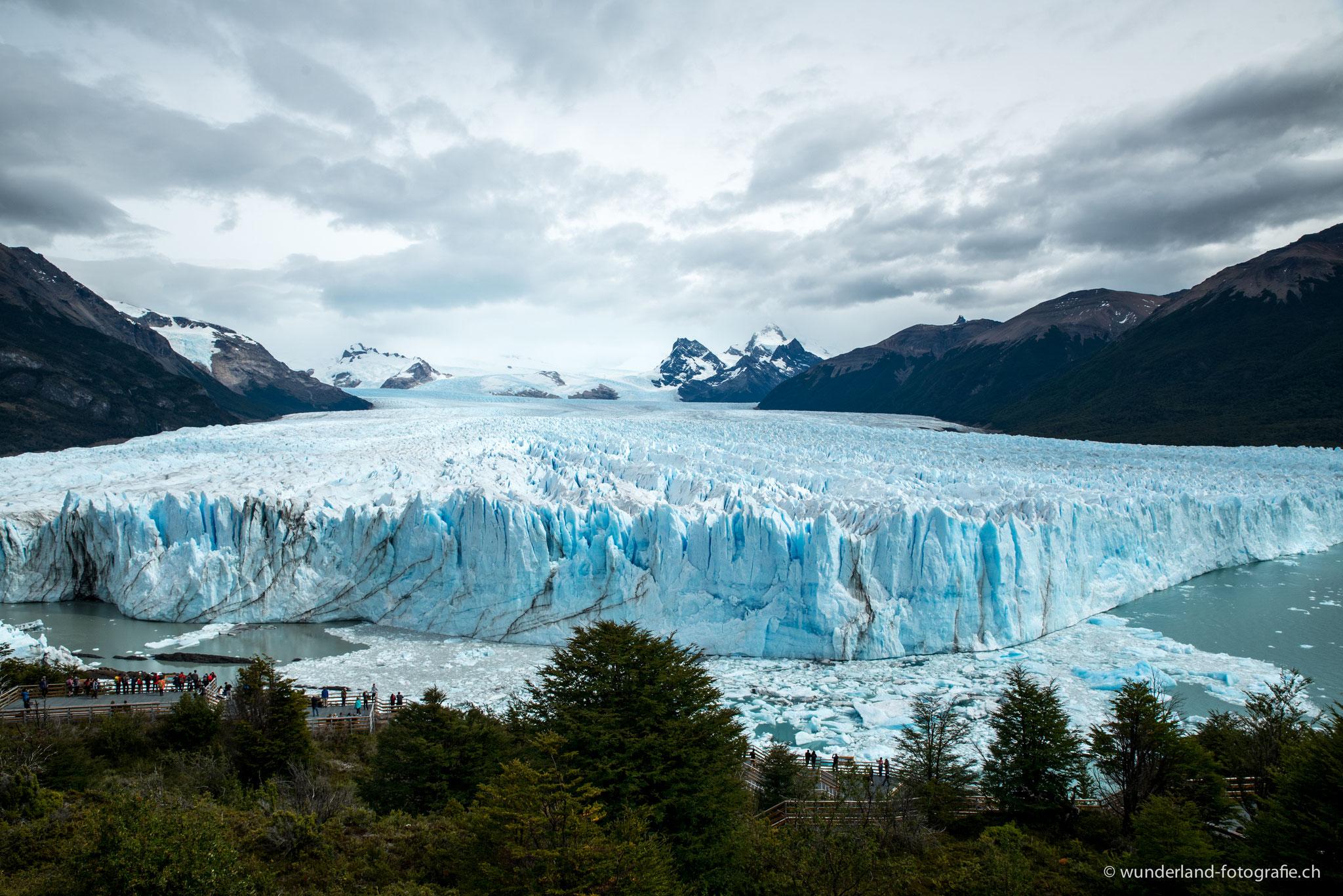 ... einer der wenigen Gletscher dieser Welt, der noch wächst.