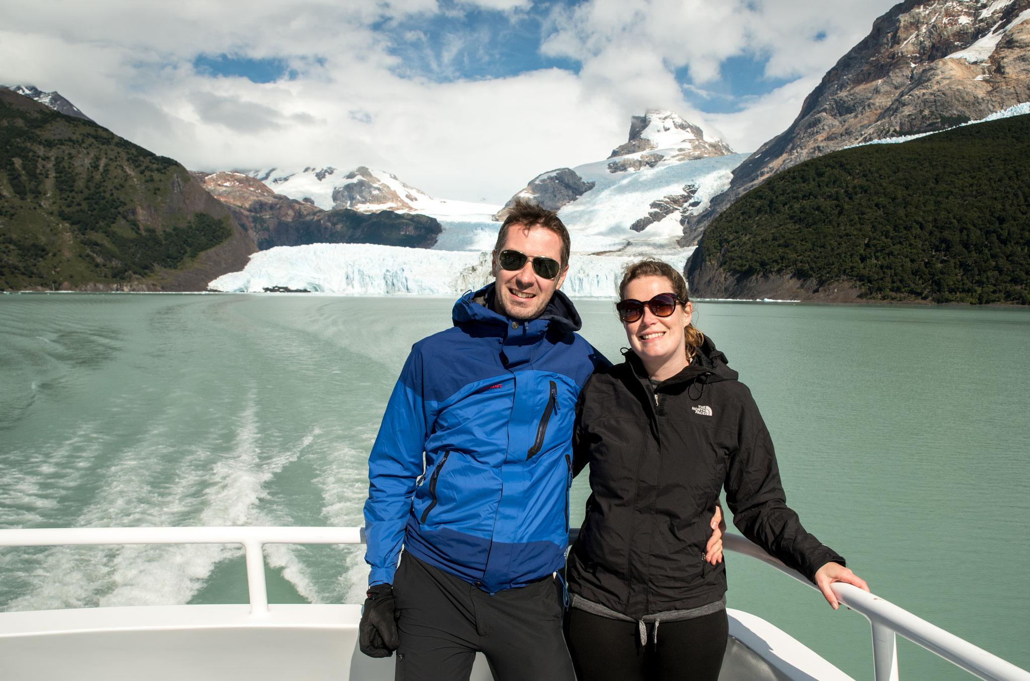 Ausflug zum Spegazzini Gletscher