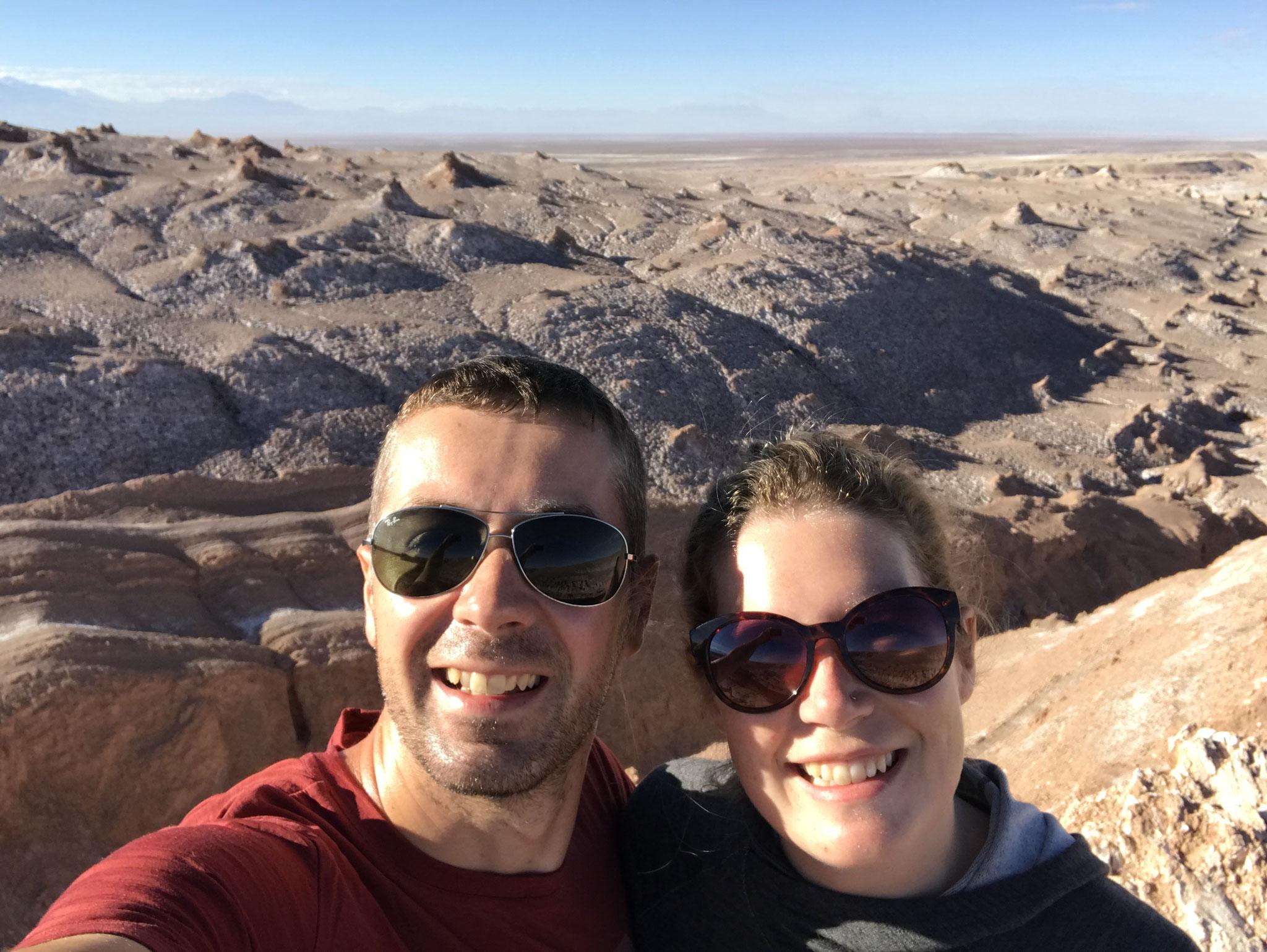 Im Valle de la Luna in San Pedro de Atacama