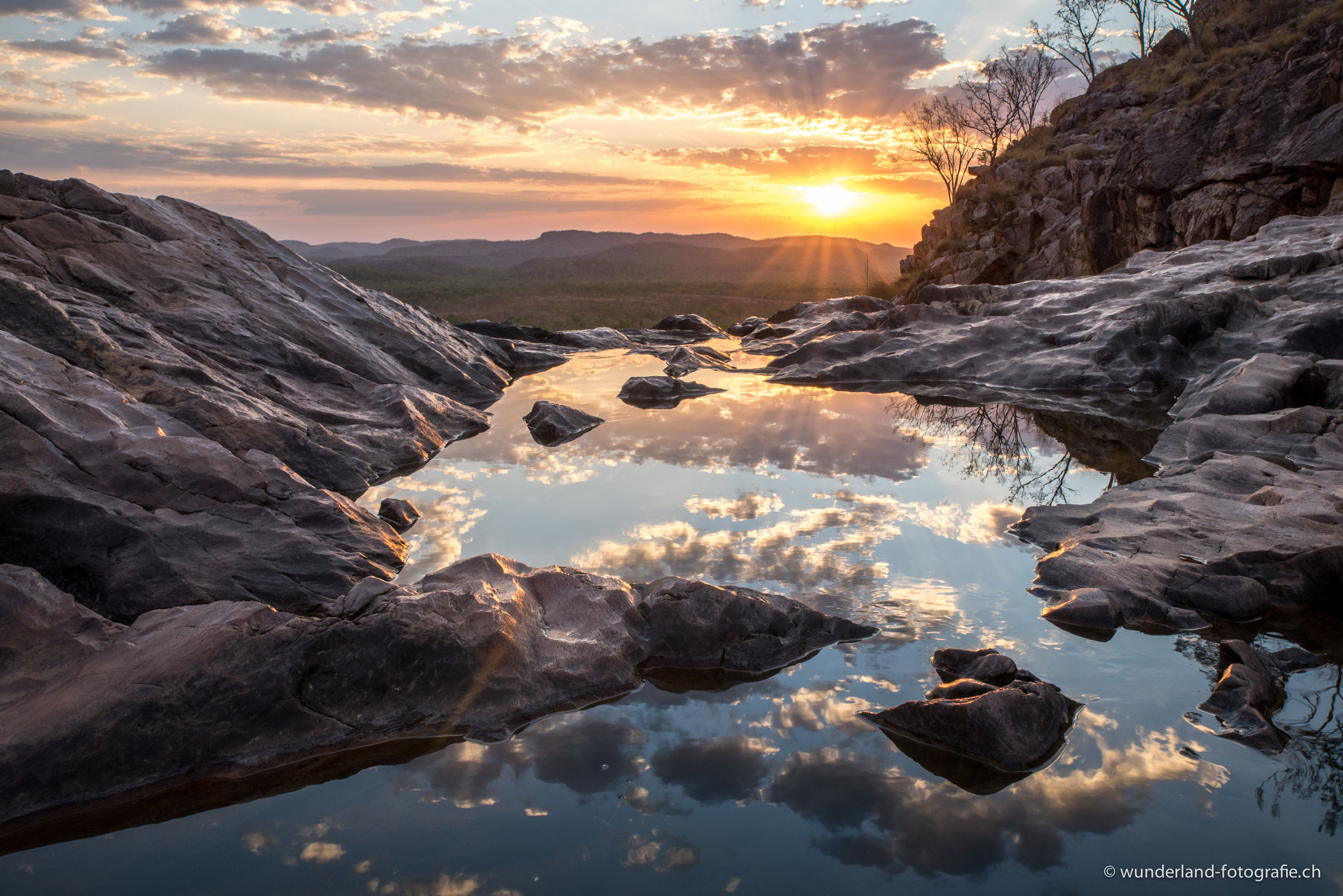 Infinity-Pool bei Gunlom (Kakadu NP)