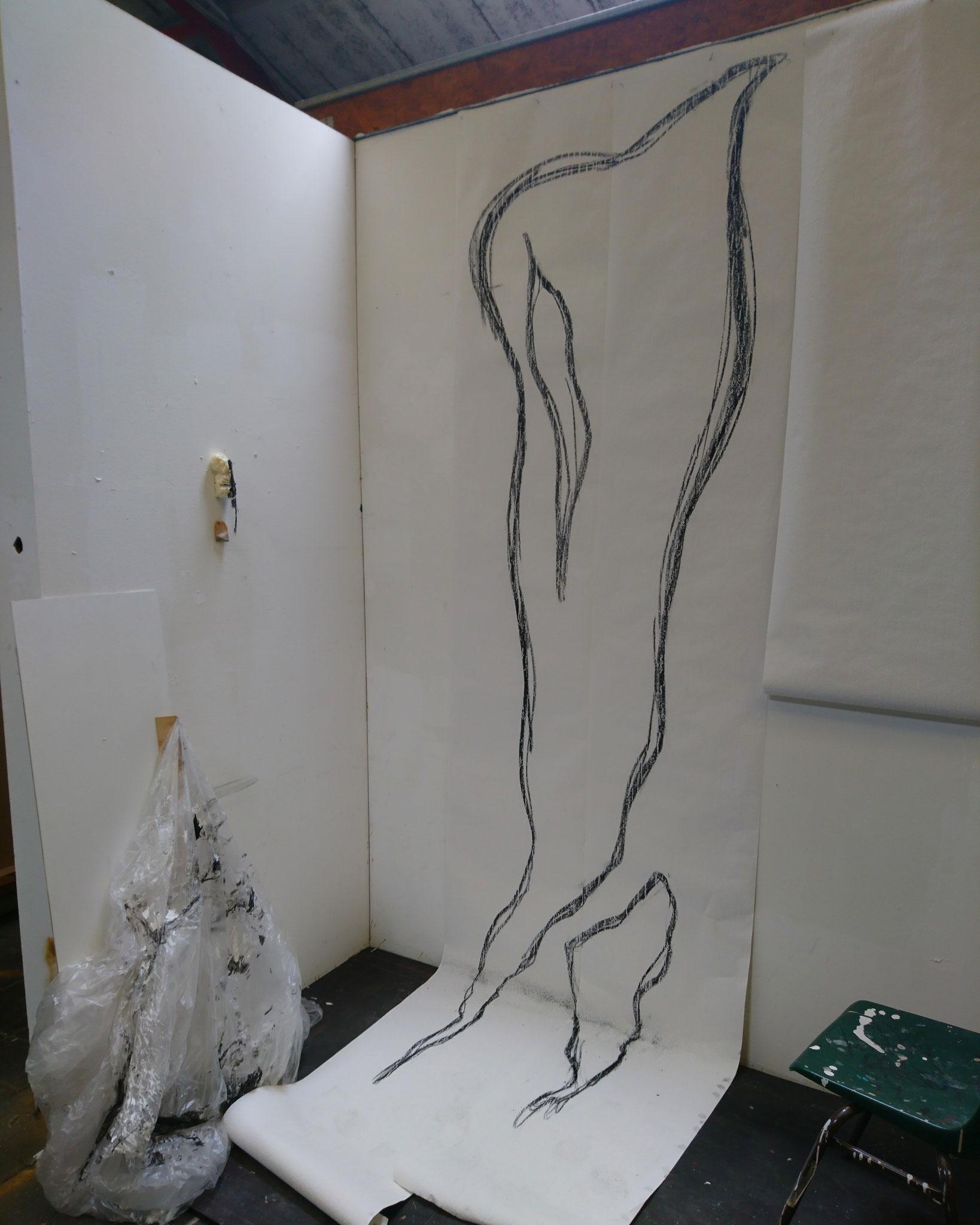 Sketch for big latex pieces