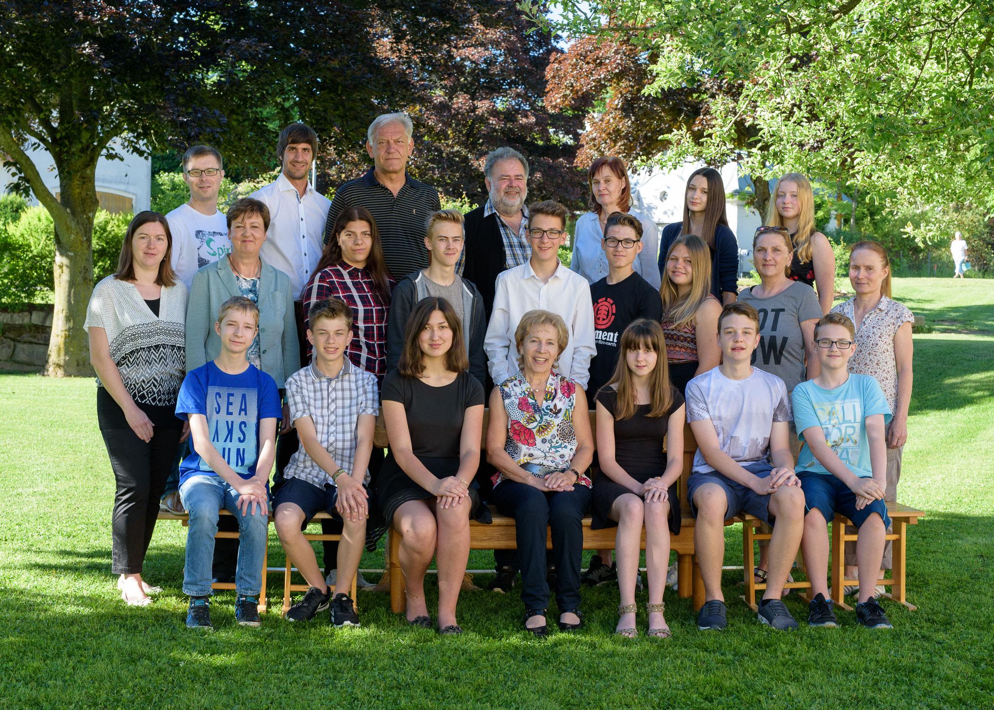 4. Klasse mit Lehrerteam