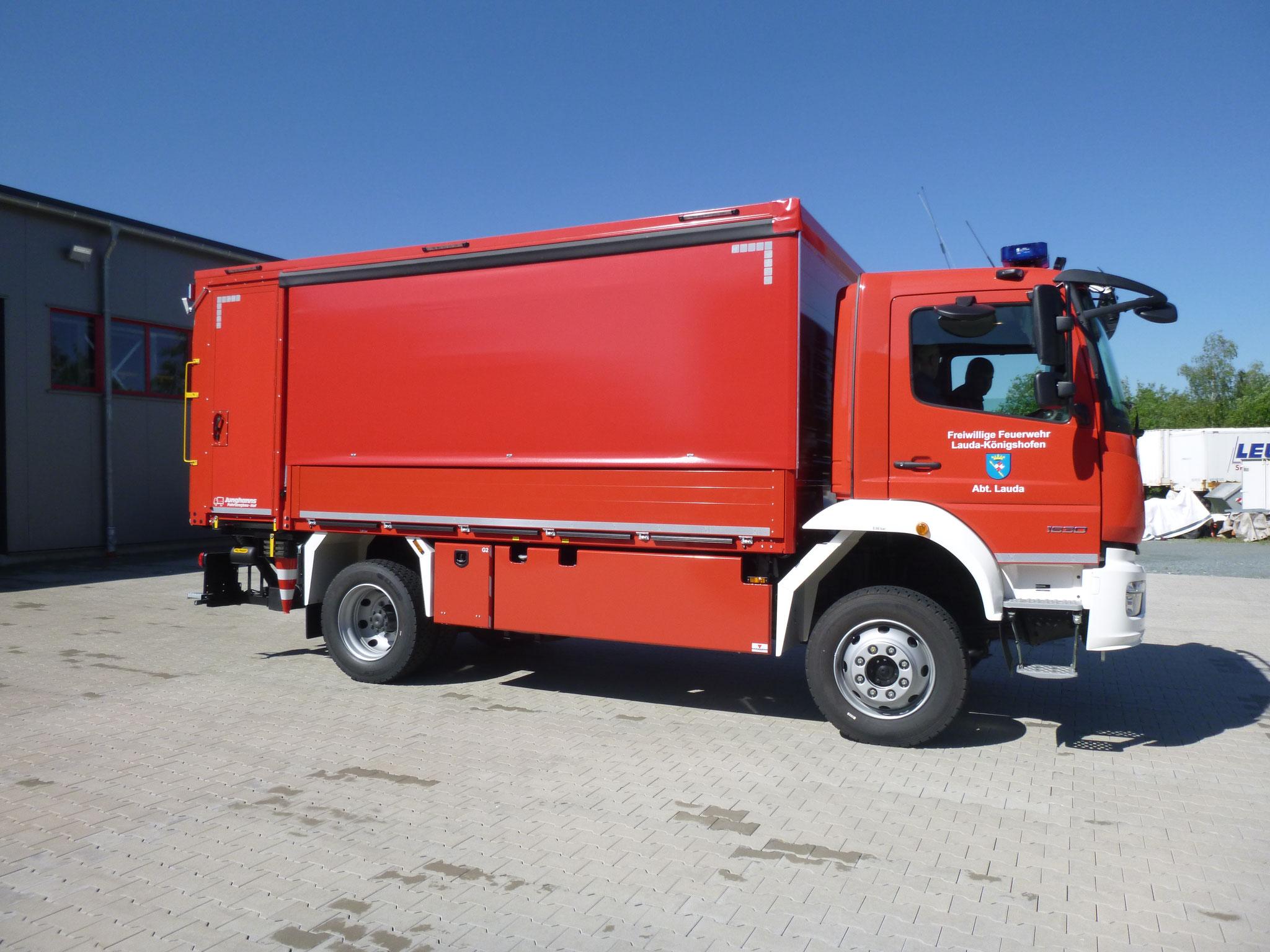 GW-T, Lauda-Königshofen, Junghanns auf Mercedes
