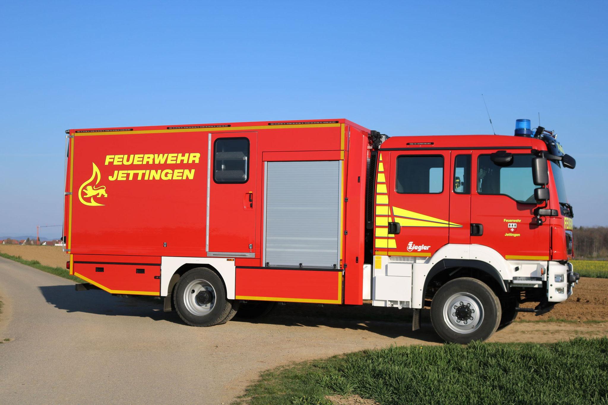 GW-L2, FF Jettingen, Ziegler auf MAN