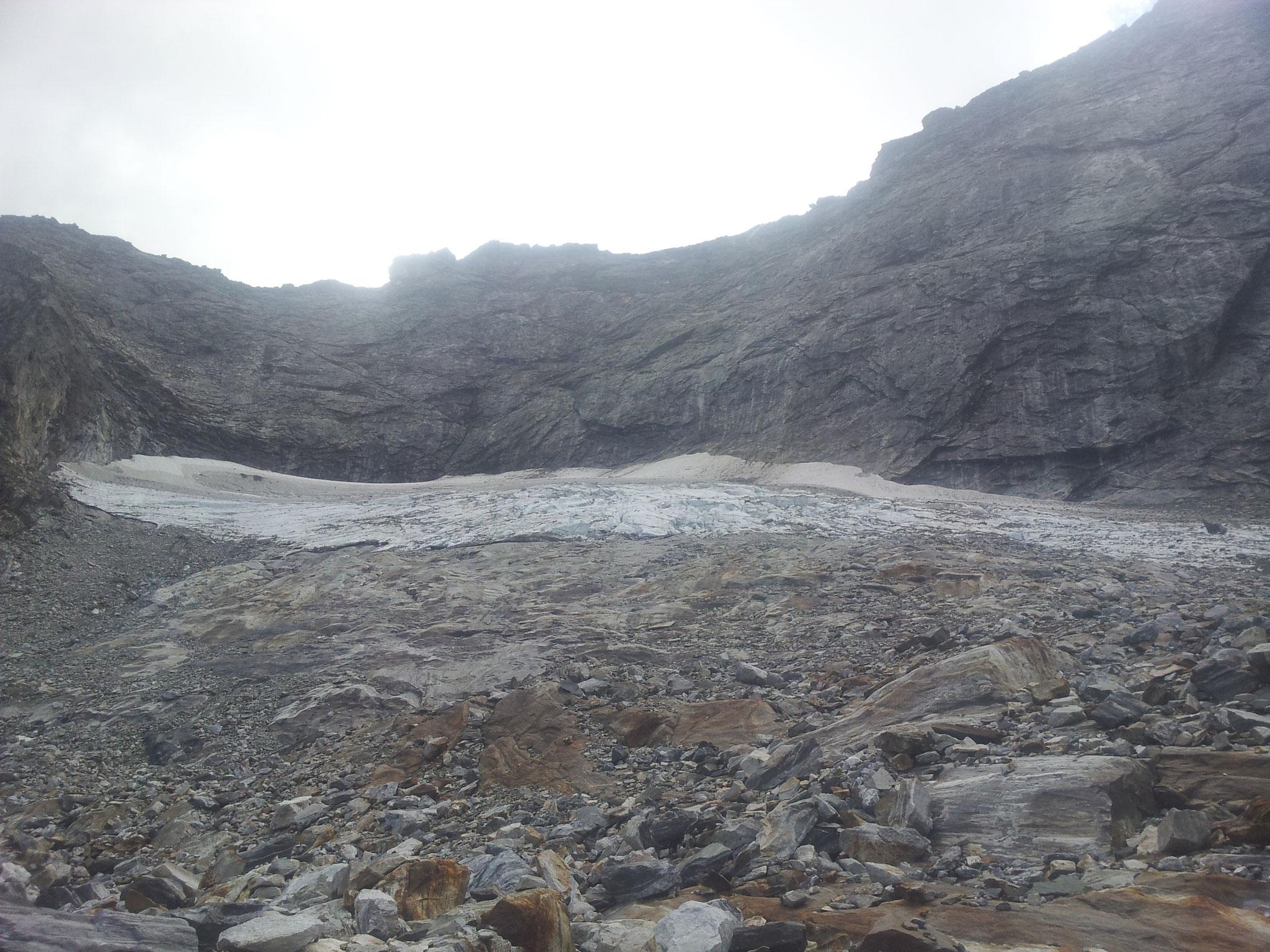 ... der Gletscherrest...