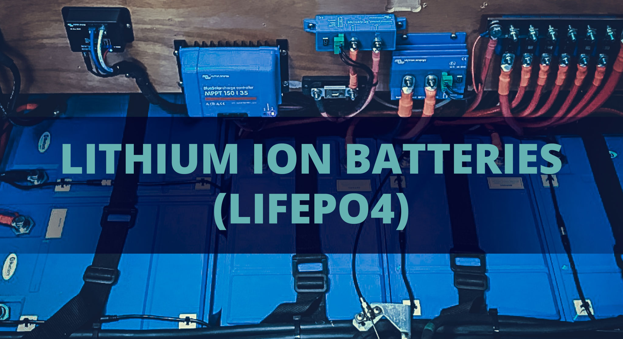 Experience the advantages of Lithium-Ion Batteries. Dependable power at sea, higher working voltages, fast and efficient charging, more usable amp hours, longer service life