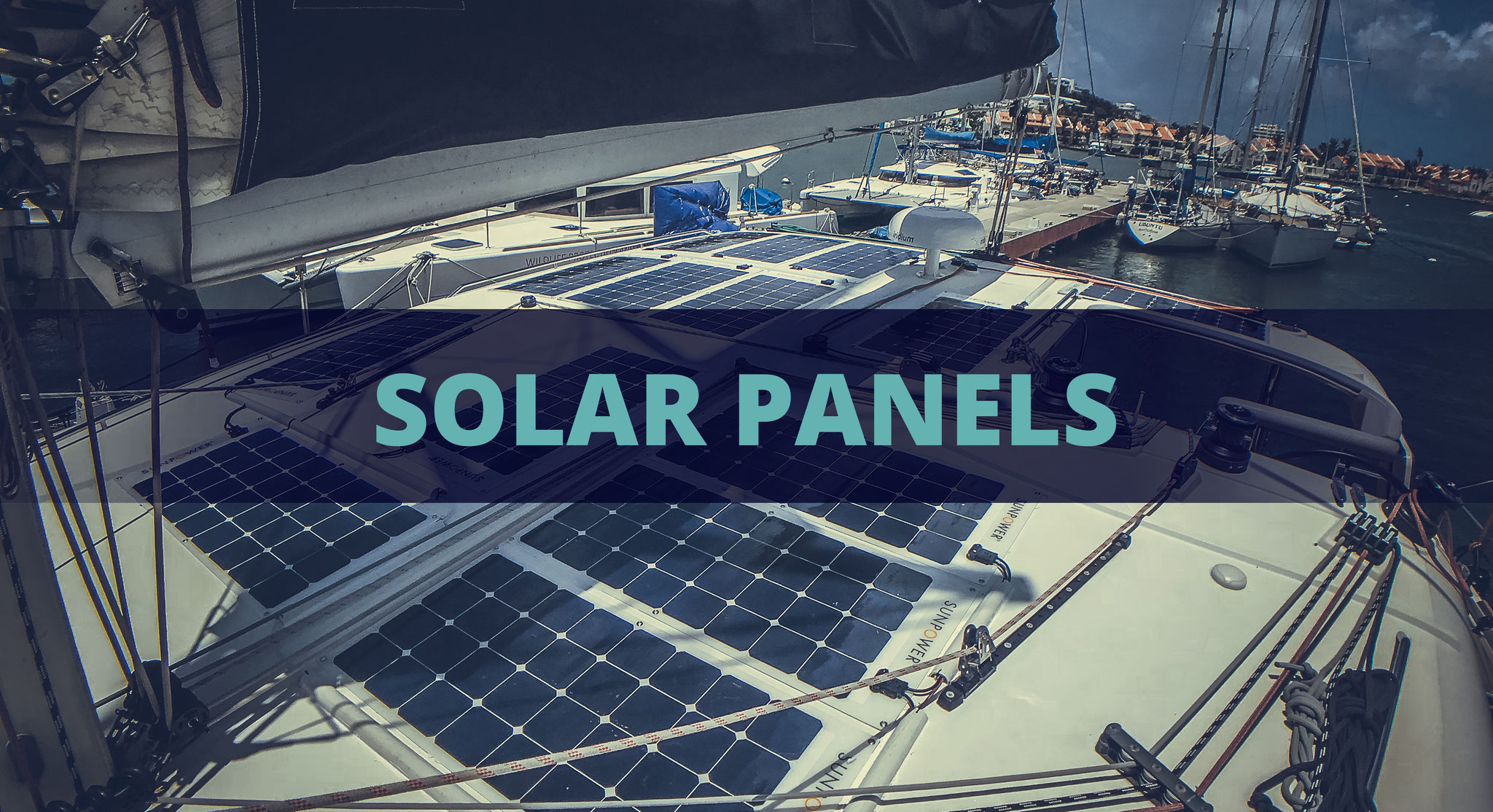 Take advantage of free energy. Offset the need to operate your engine or generator to charge your batteries by adding solar panels. We professionally install the perfect solar setup using only the most efficient solar panels and solar controllers.