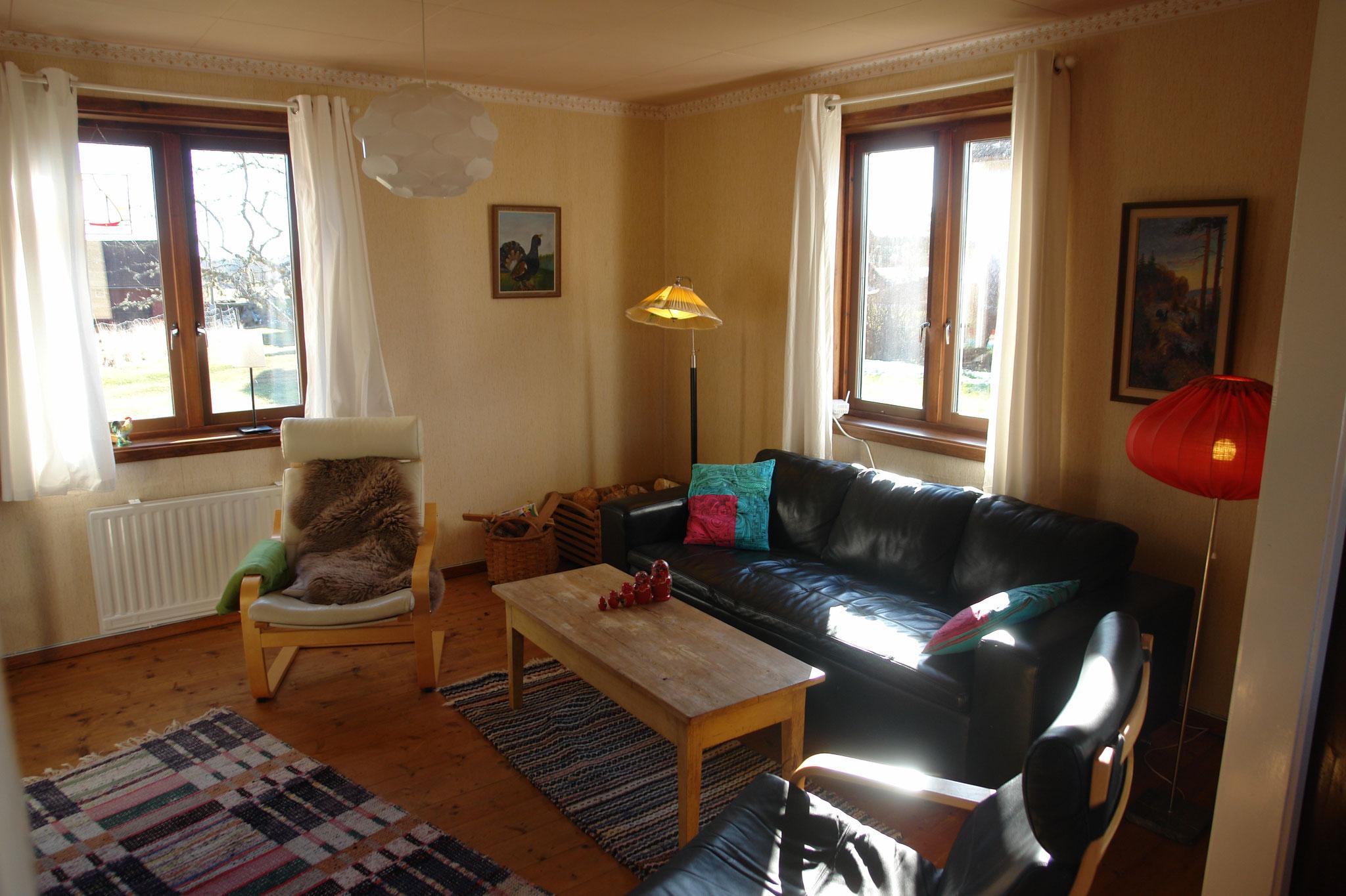 Gezellige Zweedse Woonkamer : Het huis zweeds vakantiehuis huren in smaland