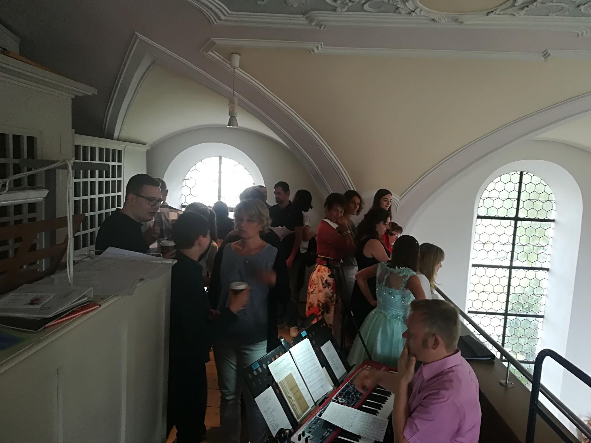 Hochzeit in der Pfarrkirche