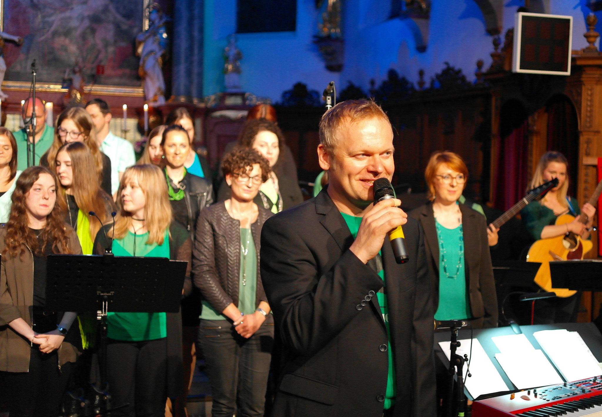Unser Chorleiter