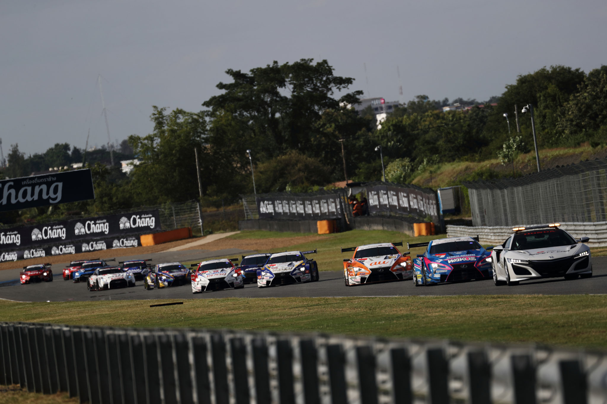 2019 SUPER GT 第4戦 THAILAND決勝 ポールトゥウイン!!