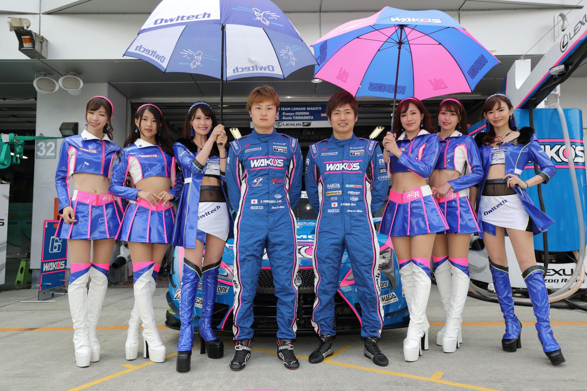 大嶋和也 2019 SUPER GT第2戦 富士スピードウェイ