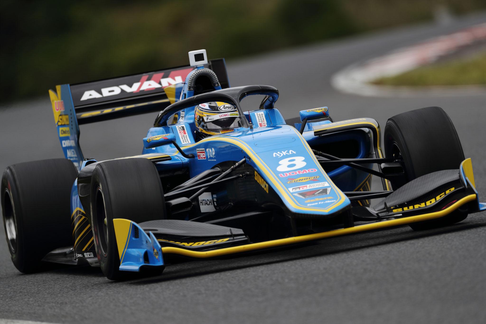 大嶋和也 2019 SUPER FORMULA Round2 決勝 AUTOPOLIS