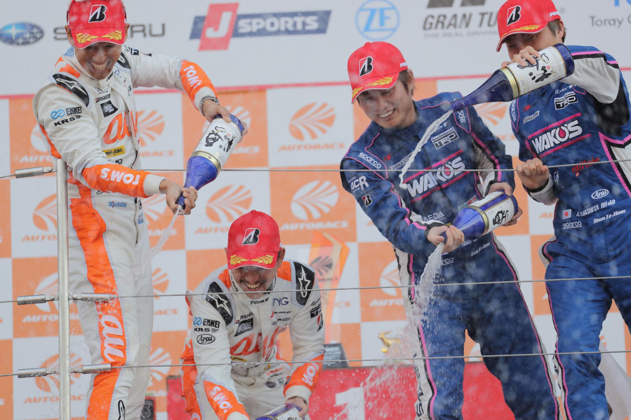 大嶋和也 2019 SUPER GT 第3戦 鈴鹿 3位 Finish