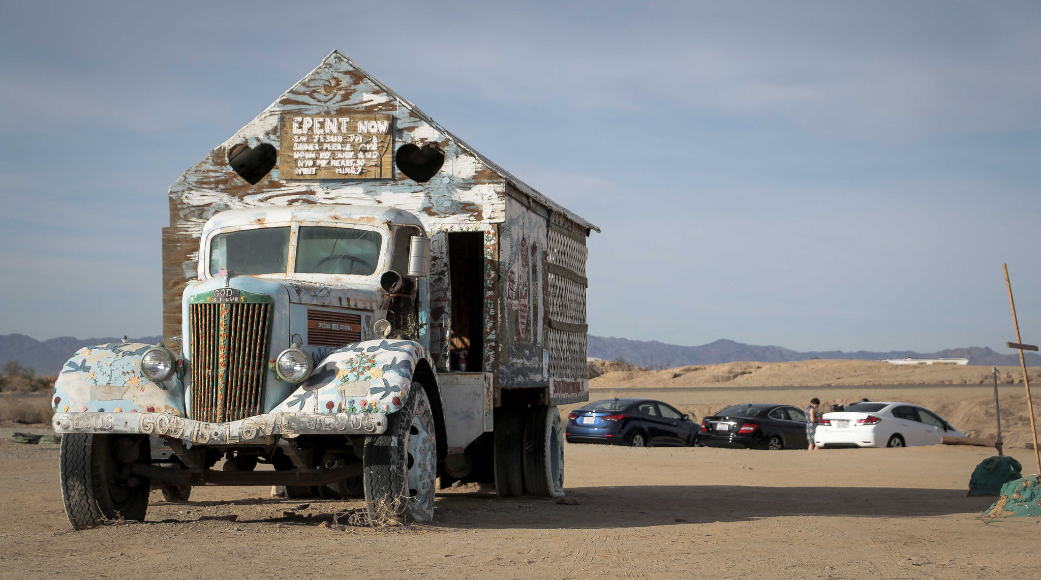 Besuch in Slab City