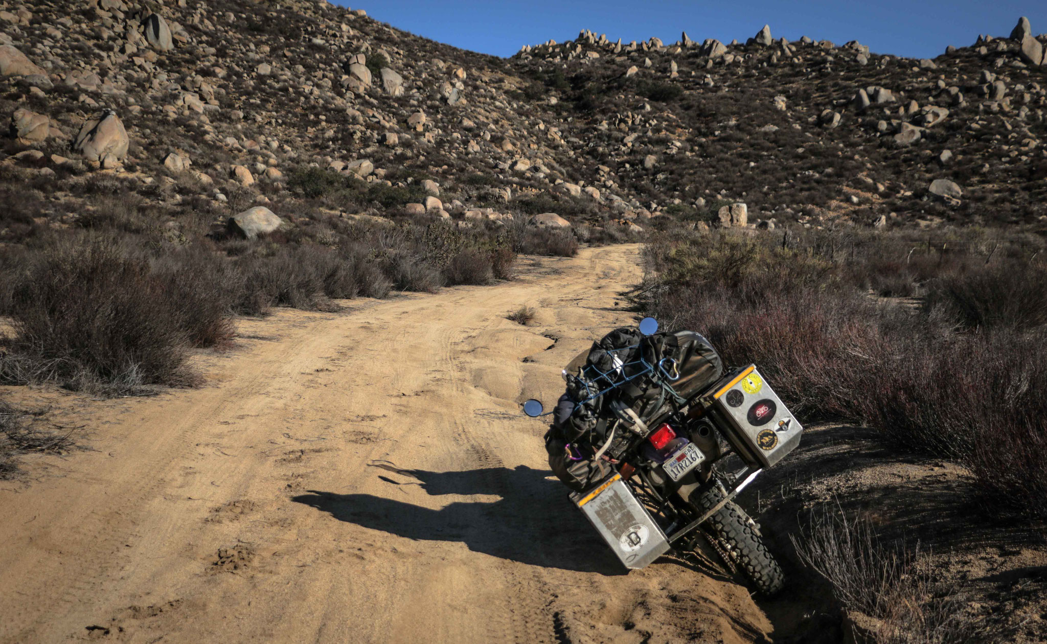 Offroad in Baja California