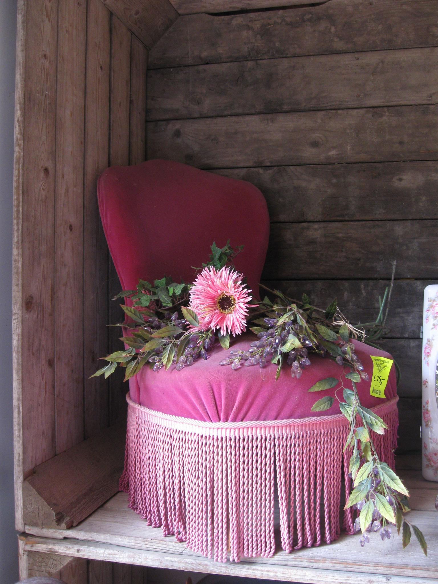 Vintage stoel - van € 50,- voor € 25,-