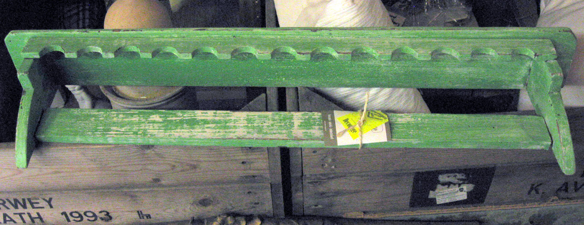 Borden cousole groen - van € 45 voor € 25,-