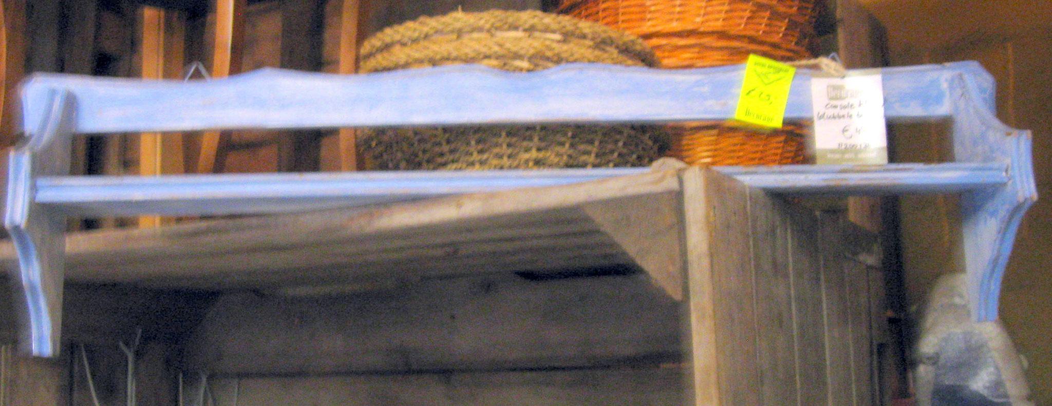 Borden cousole blauw - van € 45,- voor € 25,-