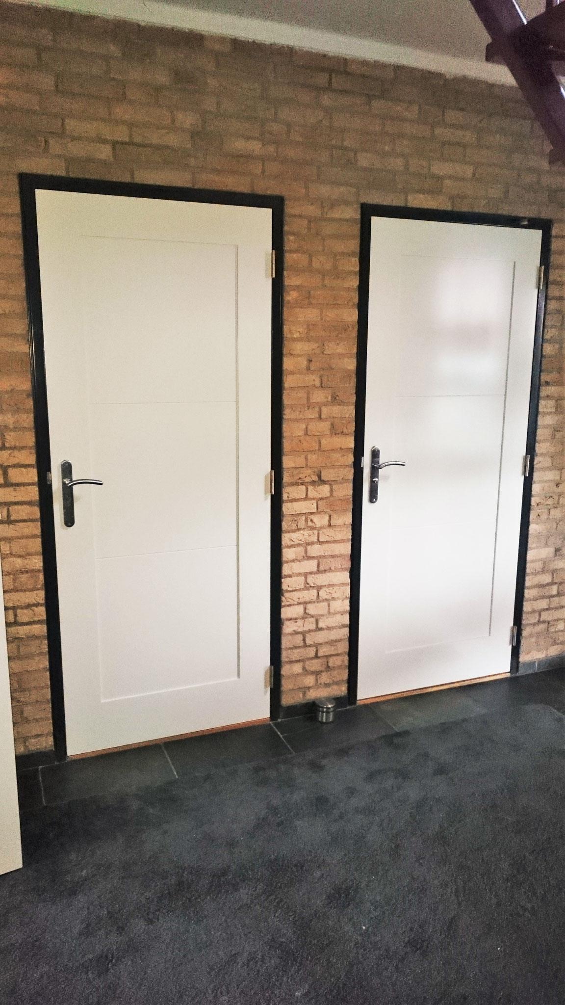 binnendeuren vlakprofiel en accentgroef