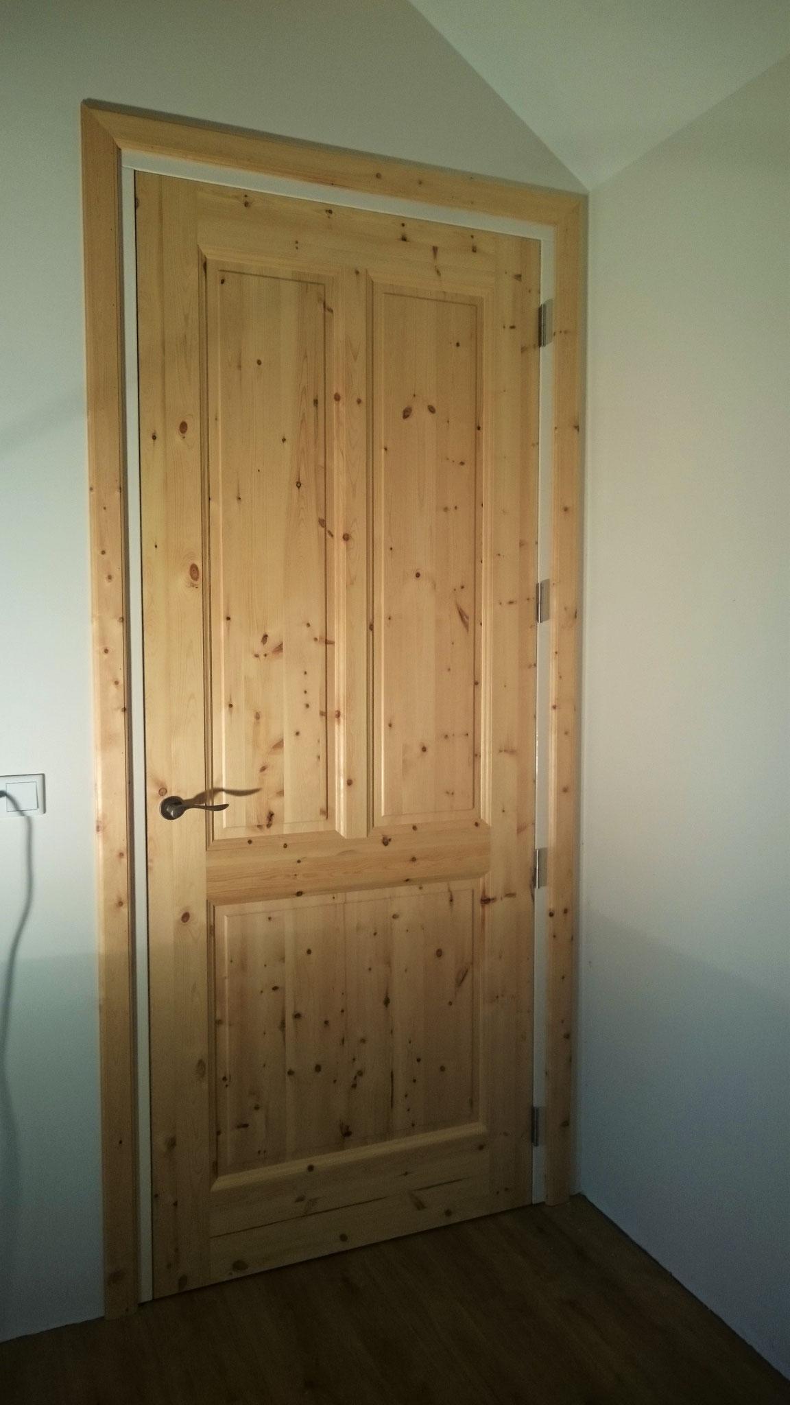 binnendeur Massief grenenhout