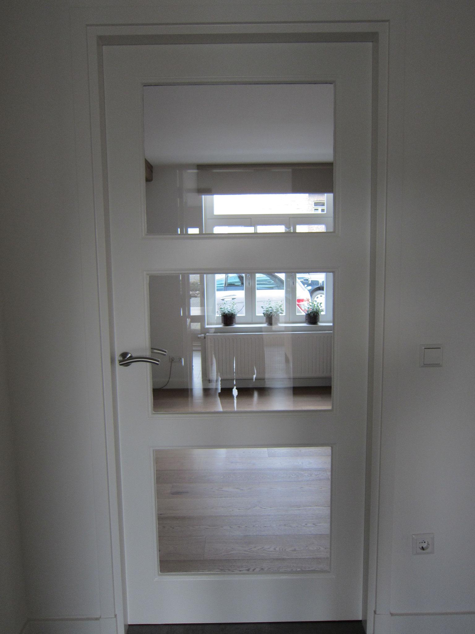 binnendeur 3-ruit