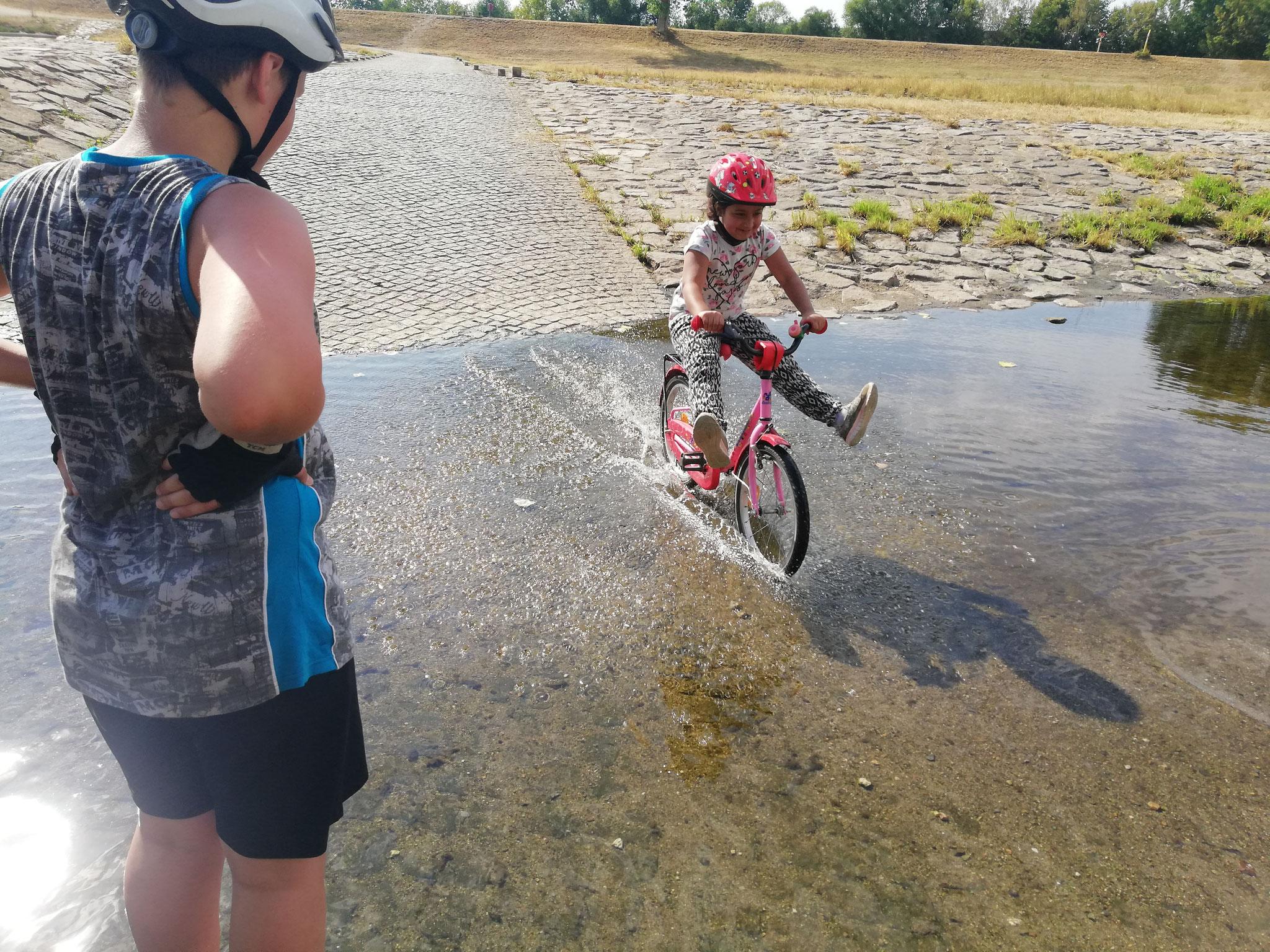 Fahrradtour nach Crossen 2018