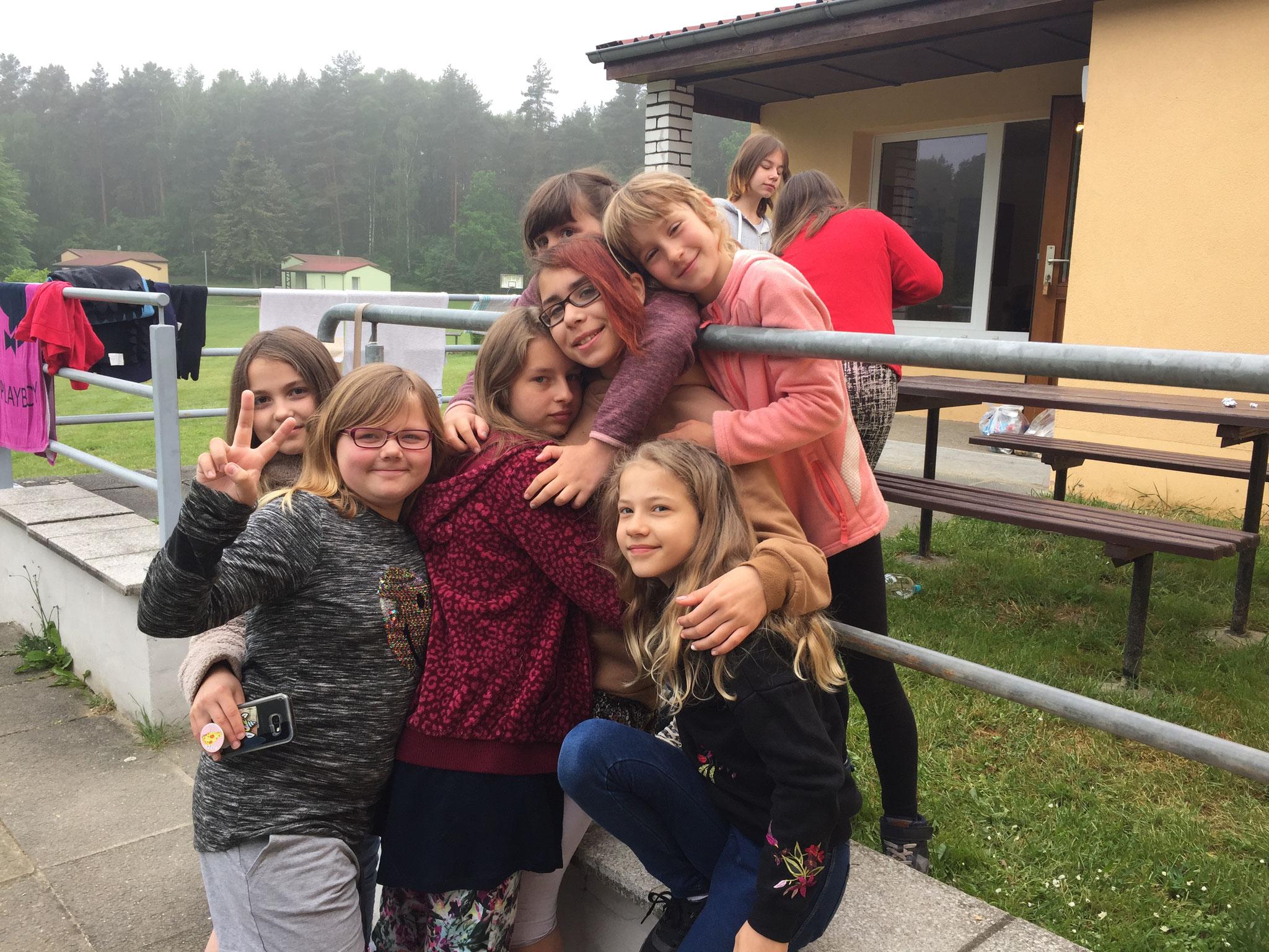 Mädchenfreizeit Olganitz 2017