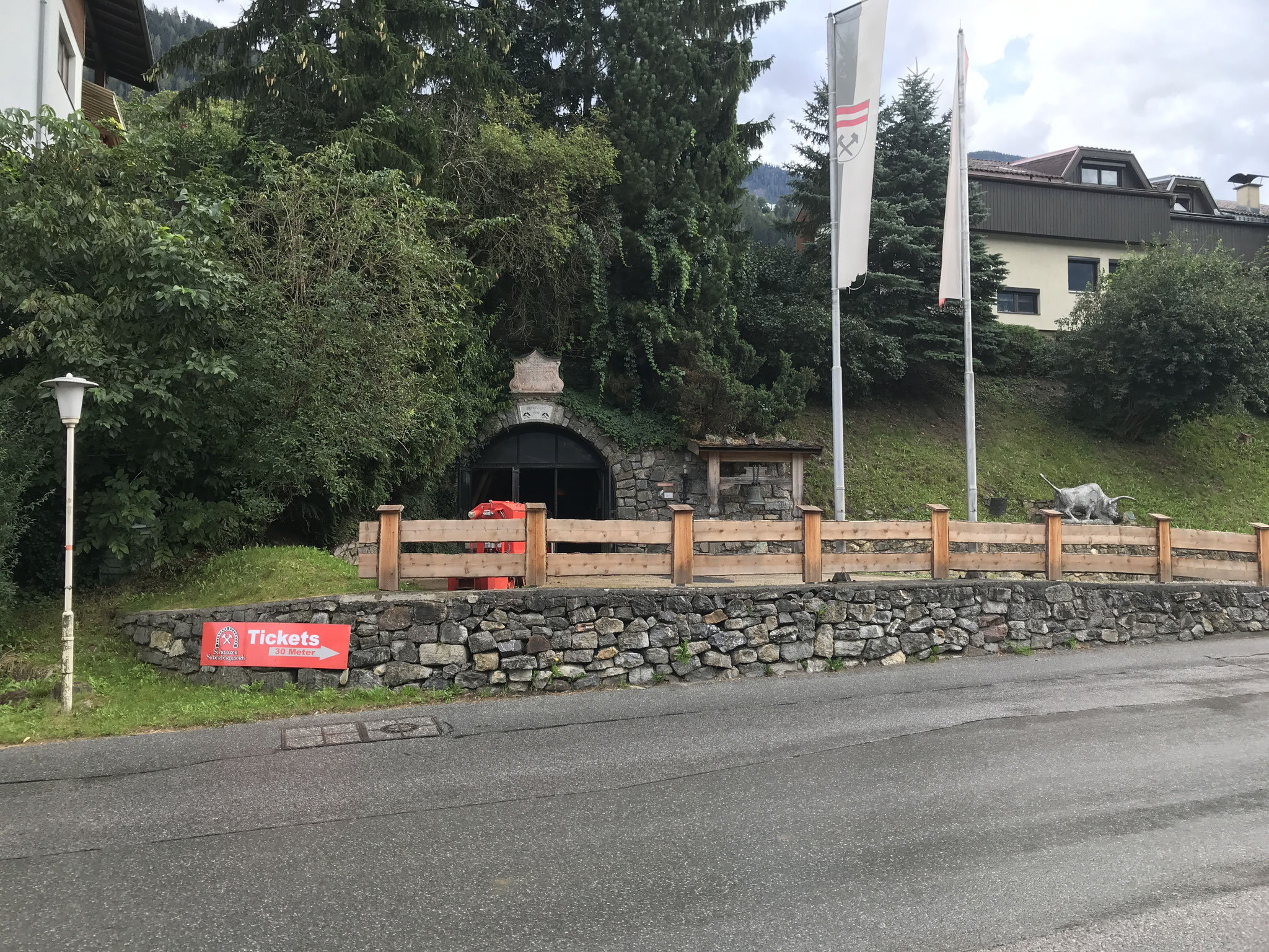 Next Stop: Silberbergwerk Schwaz