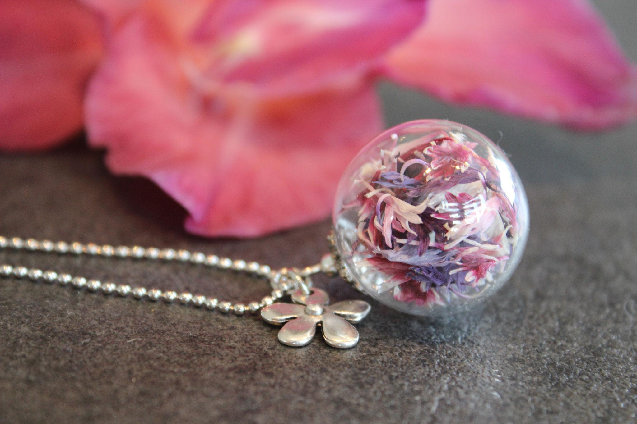 Kornblumenstrauß (lila-rosa Töne)