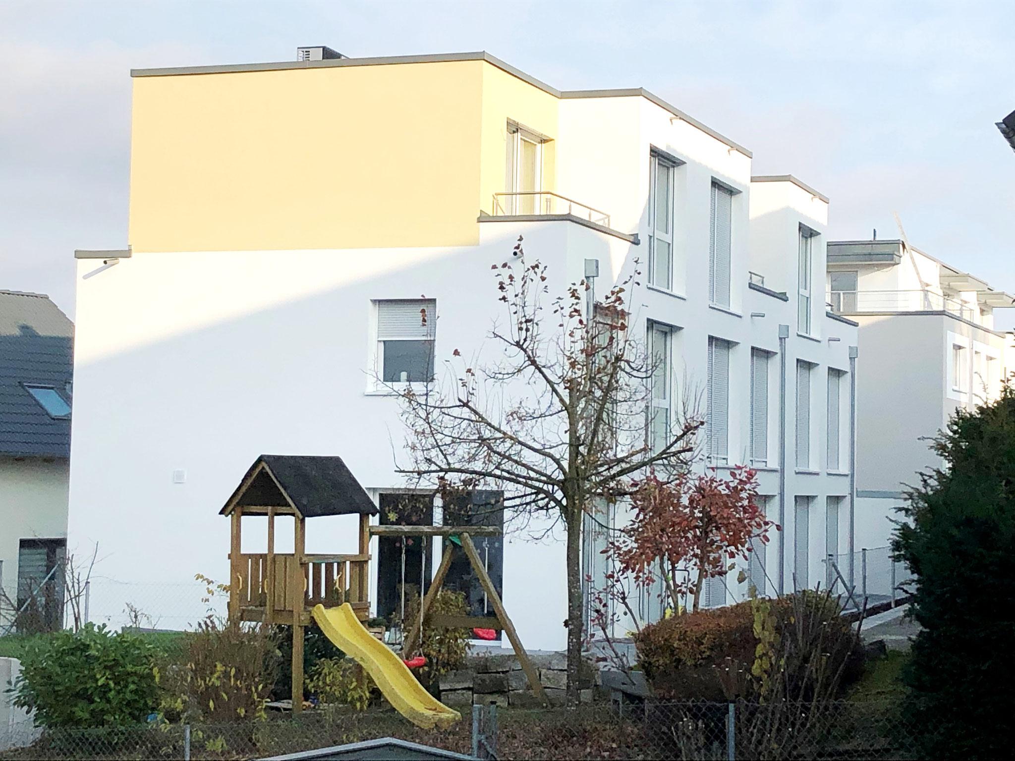 2019 12-Familienhaus und 3 Reihenhäuser, Brauereistraße in Magstadt, Architekt Dipl. Ing. Sandra Rapino