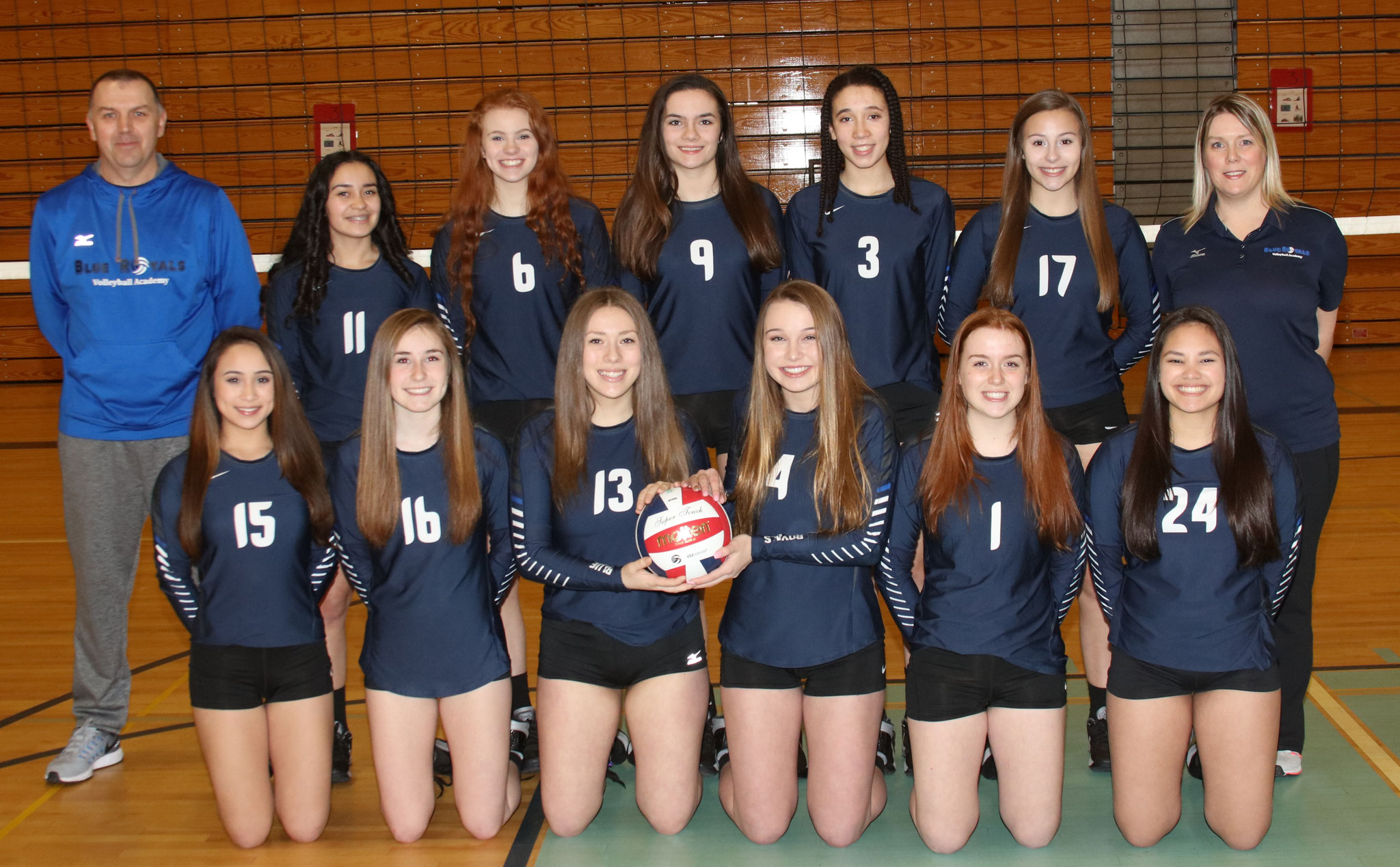 U16 National Team - See Team Page for Individual Photos