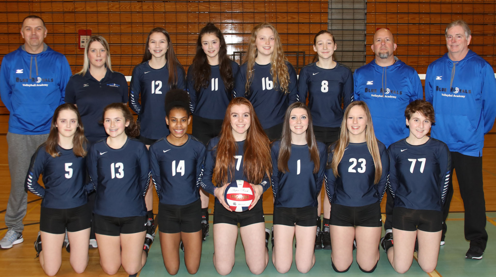 U15  National Team  - See Team Page for Individual Photos