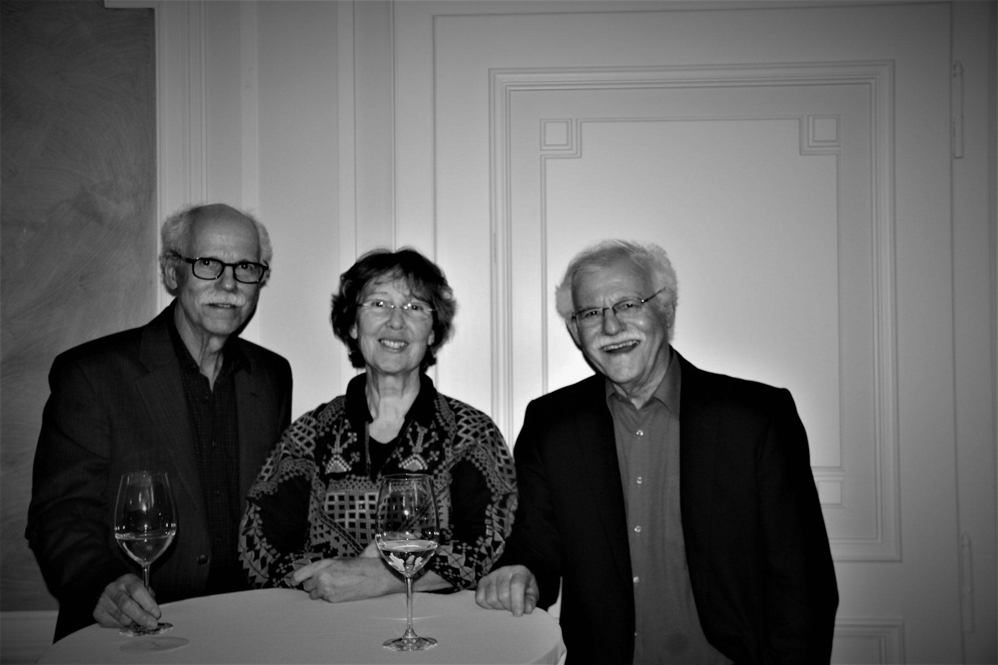 Walter und Heinz Däpp, Annemarie Mühlemann, Beatus