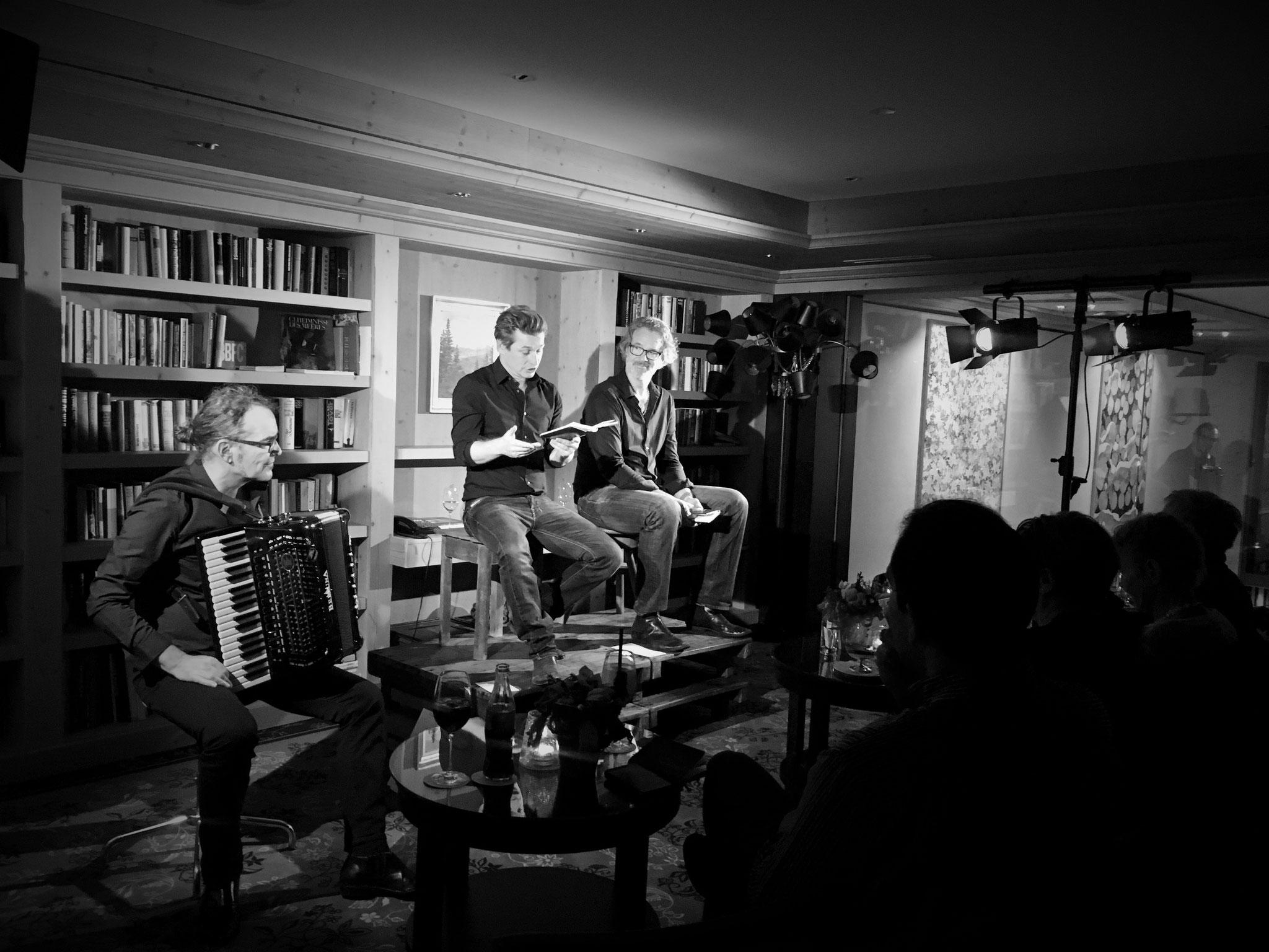 Christian Brantschen, Arno Camenisch und Gian Rupf, Ermitage