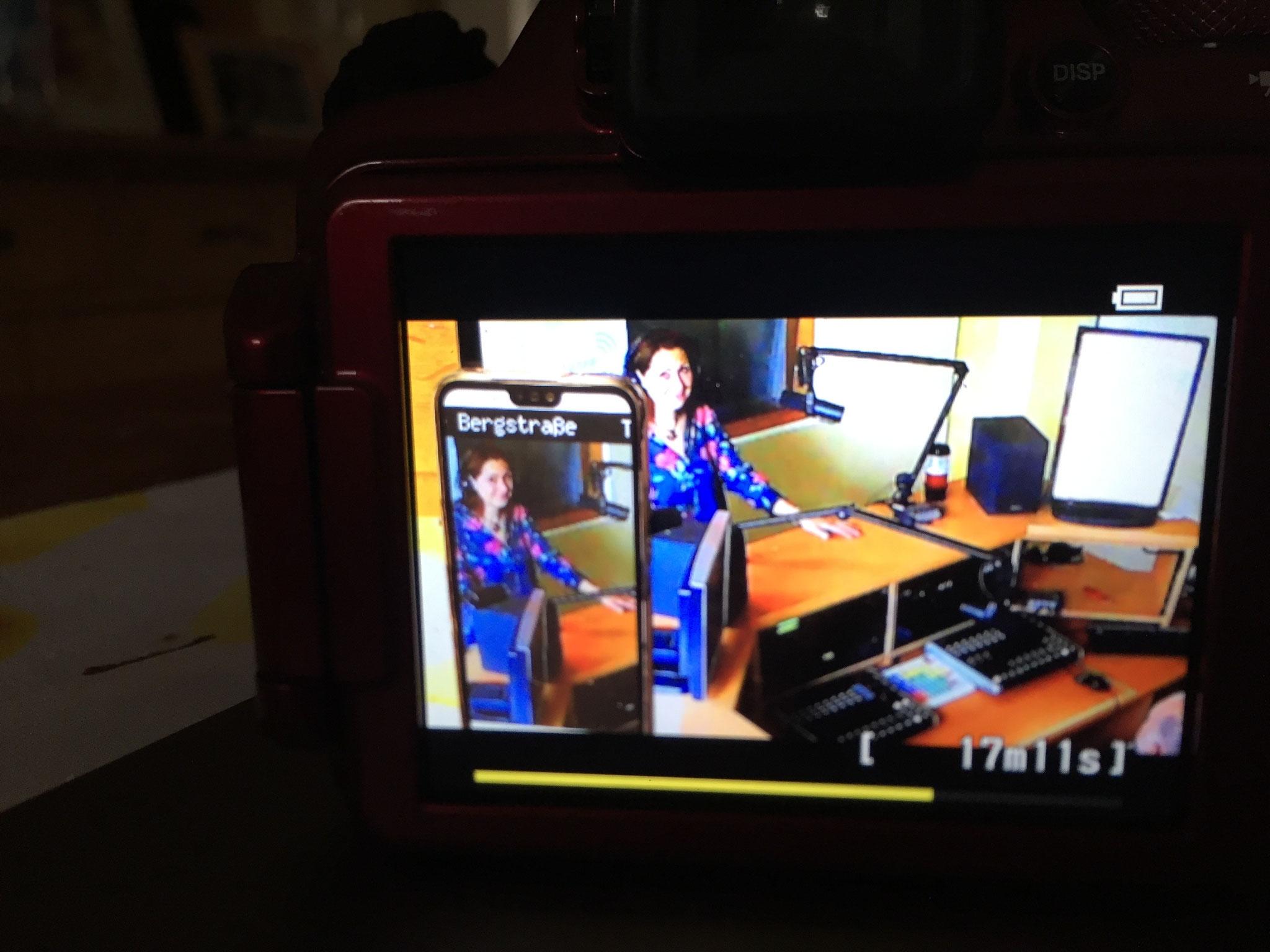 """ALSO DOCH!!! Gut das ich """"in de Reih"""" war! Es gab tatsächlich eine WEB-Cam Liveübertragung!"""