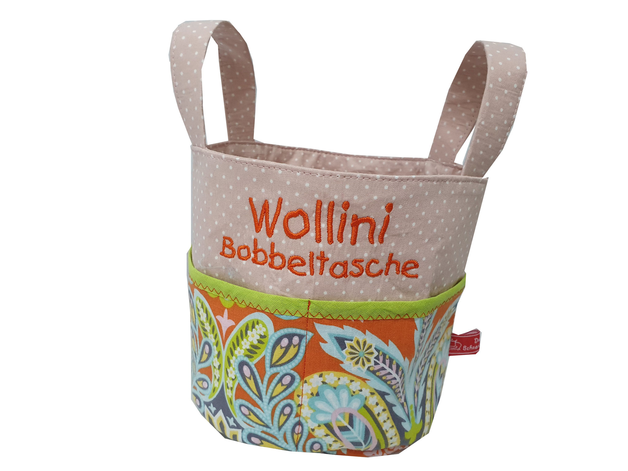 NEU: Ebook *Wollini* Bobbeltasche, 4,90 €