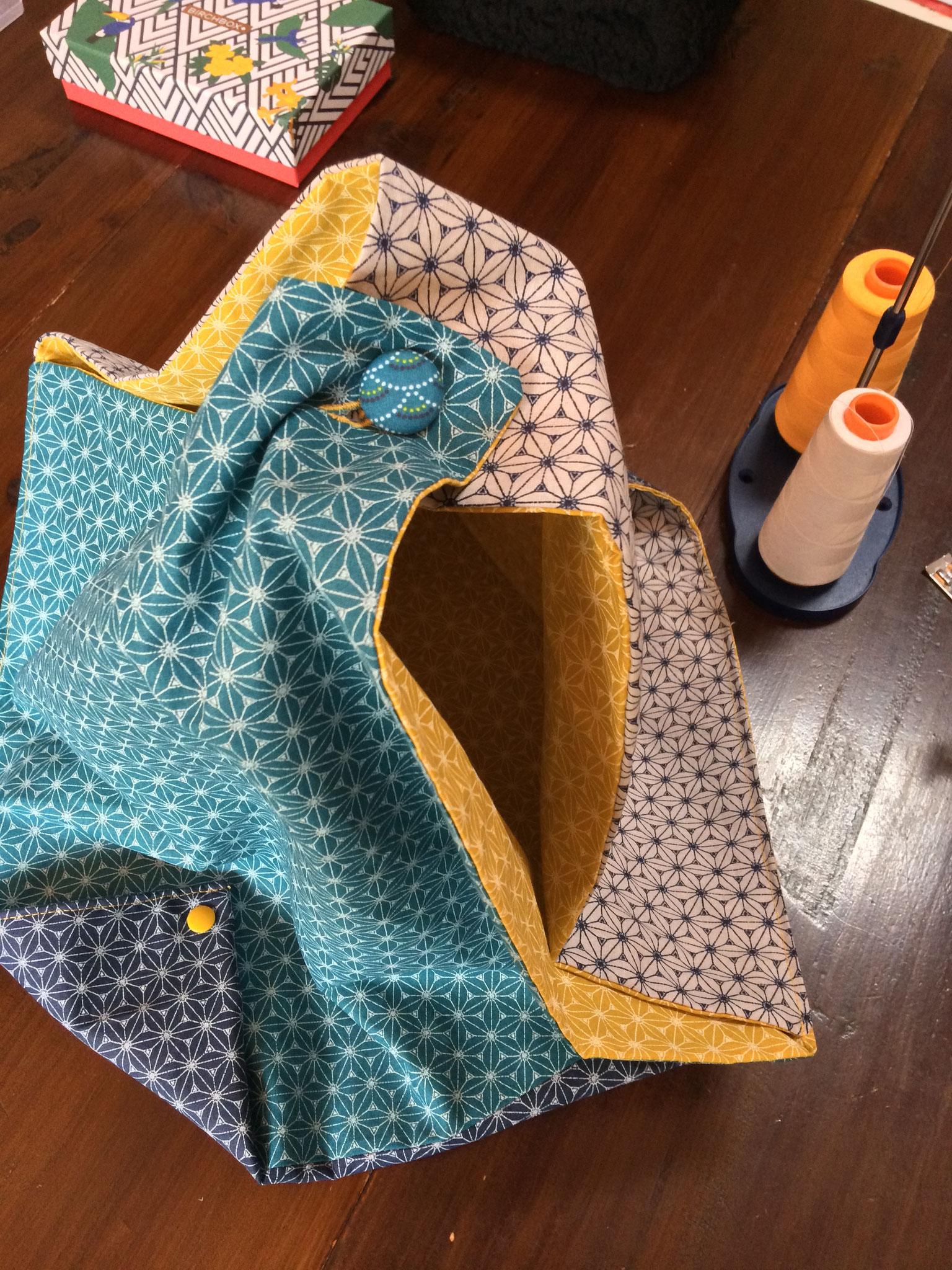 Sac origami de Laurence