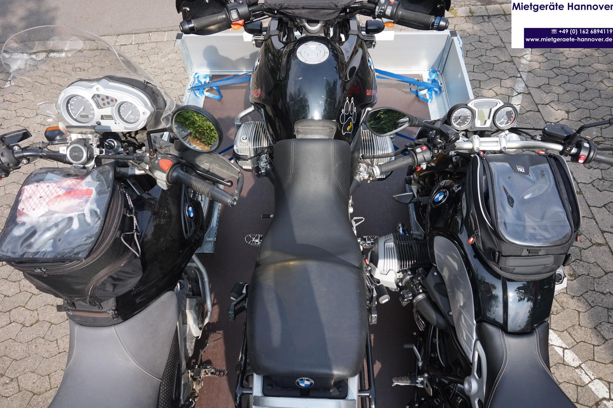 BMW R GS 1250, R nineT, GS 650 oben