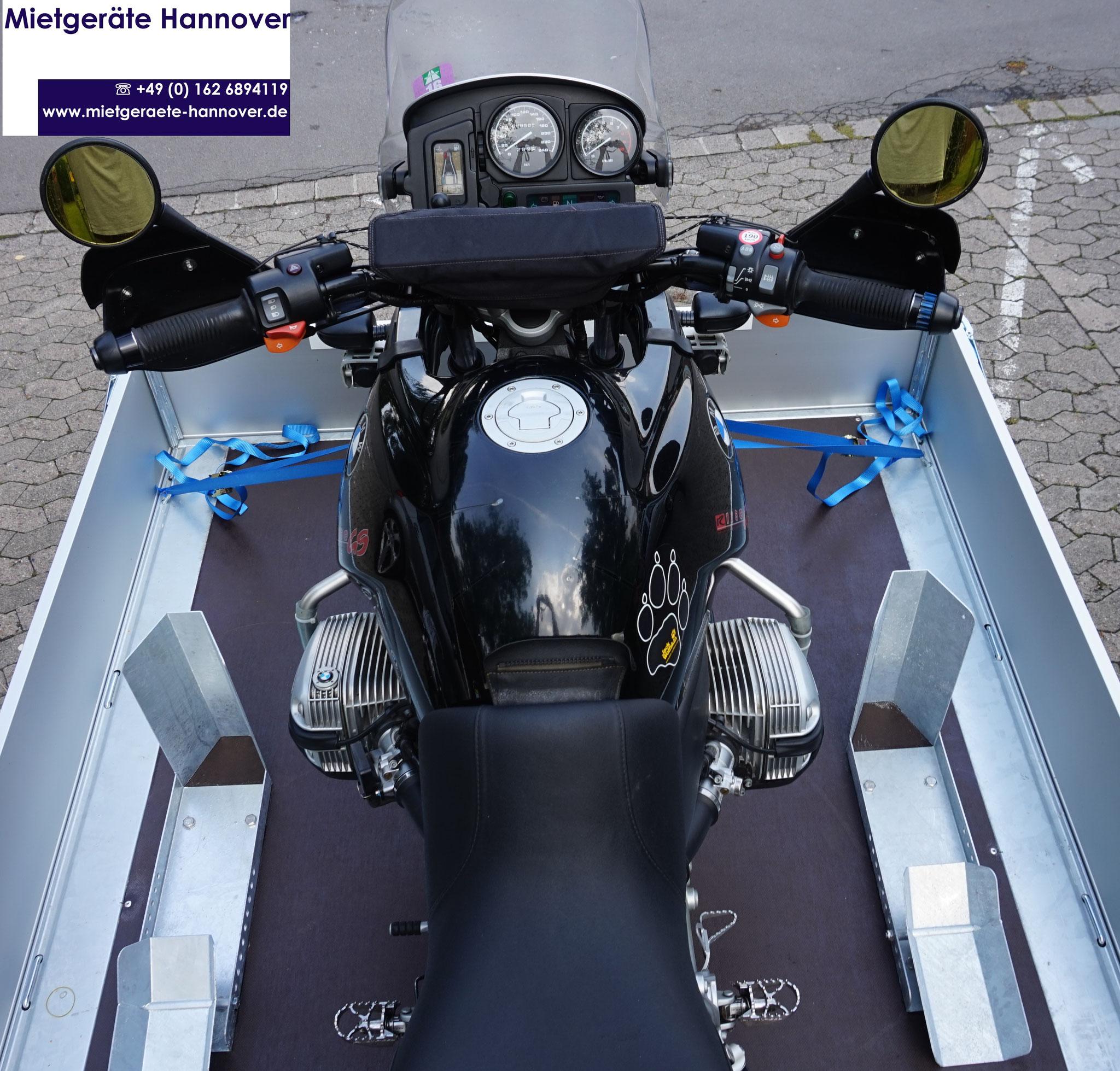 Beispiel BMW R GS 1250 oben