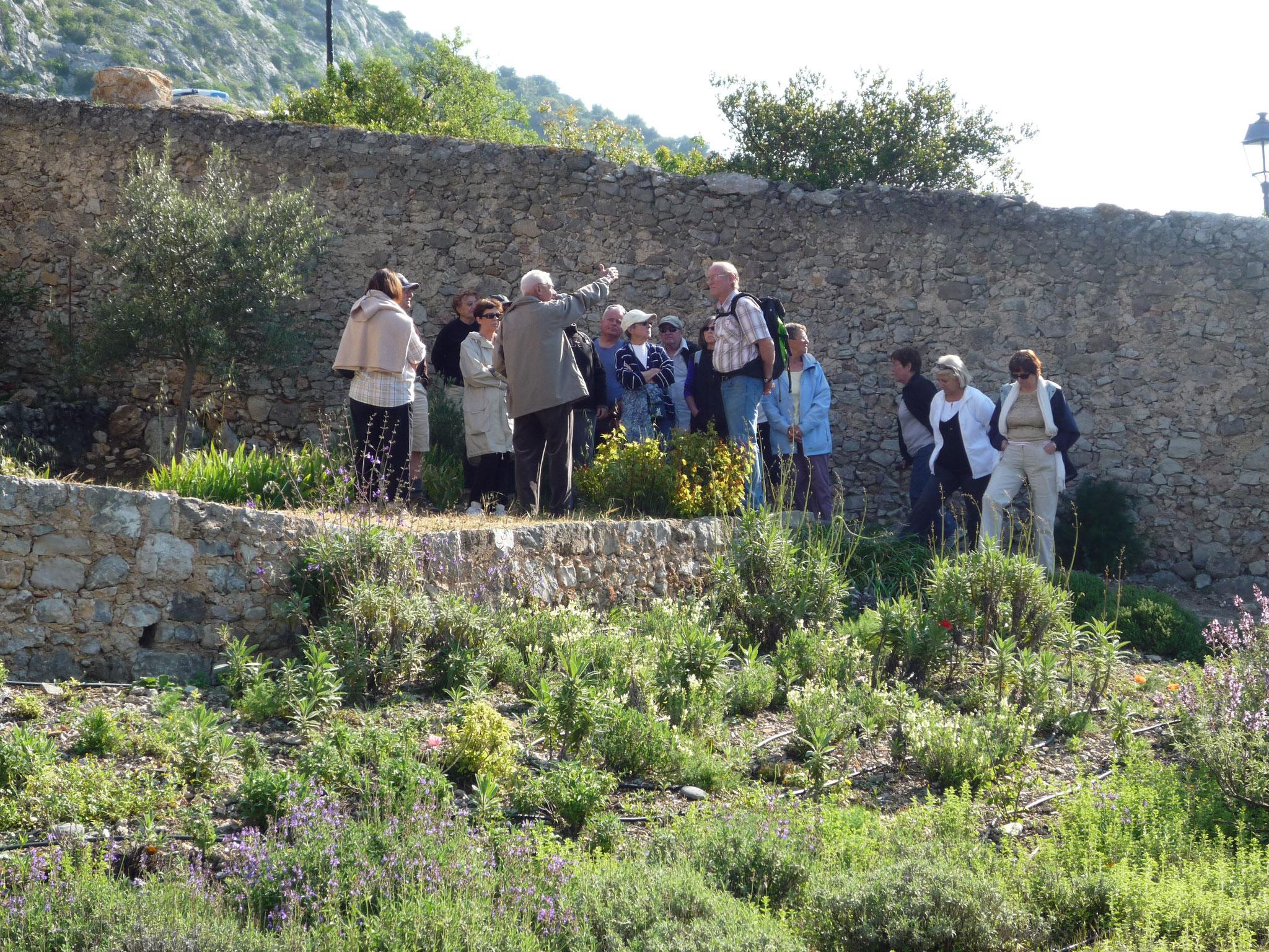 Visite du château commentée par Joseph Sicard