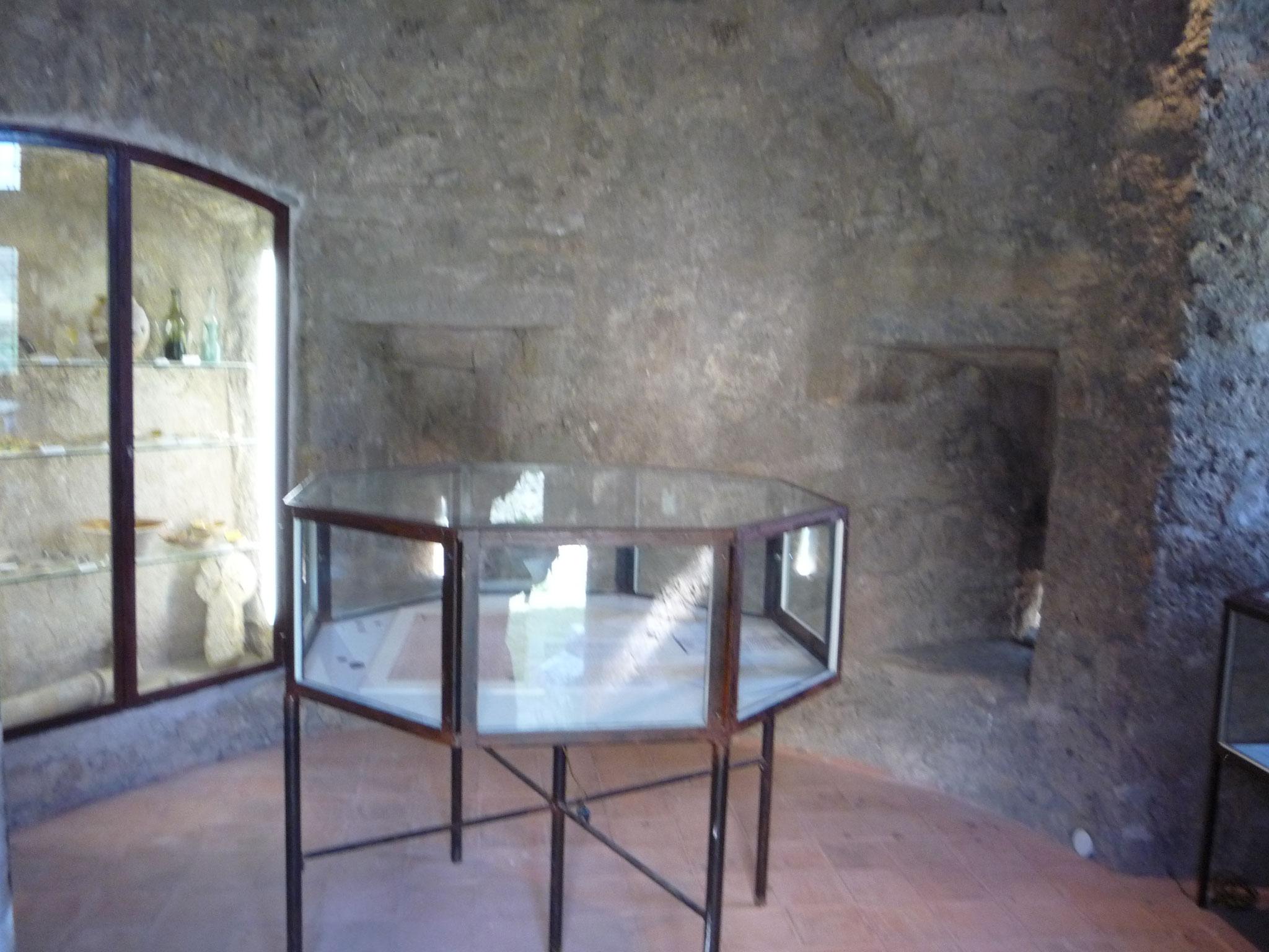 vue intérieur de la Tour mémoire