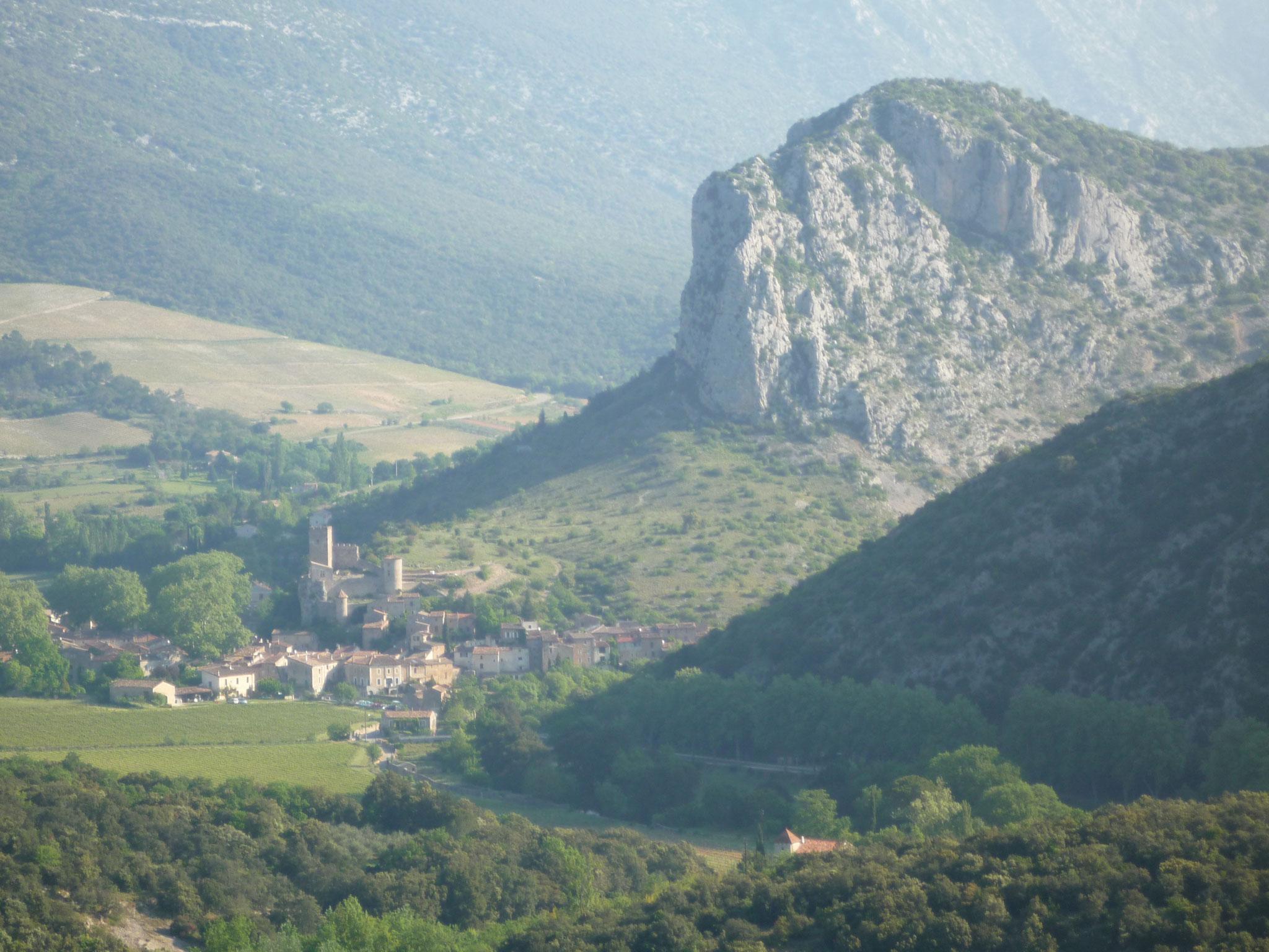 Vue du Château depuis la montée Nord