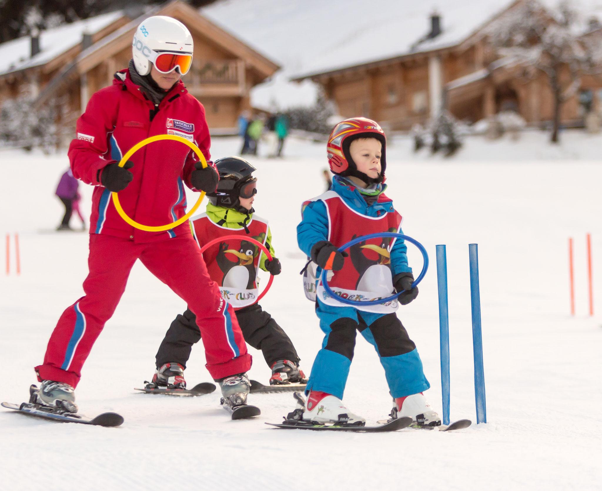 Spielerisch Schifahren lernen